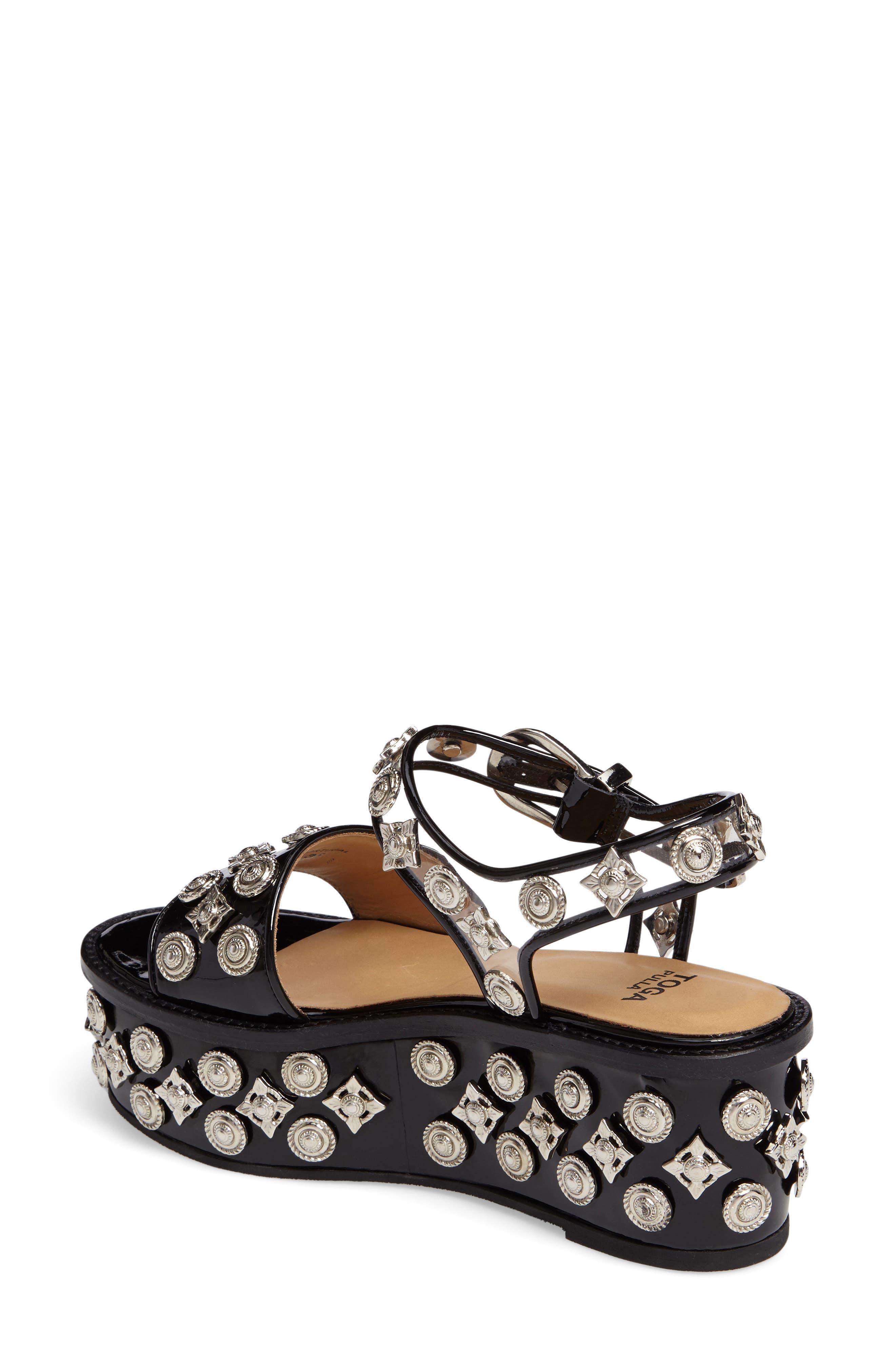 Alternate Image 2  - TOGA PULLA Embellished Platform Sandal (Women)