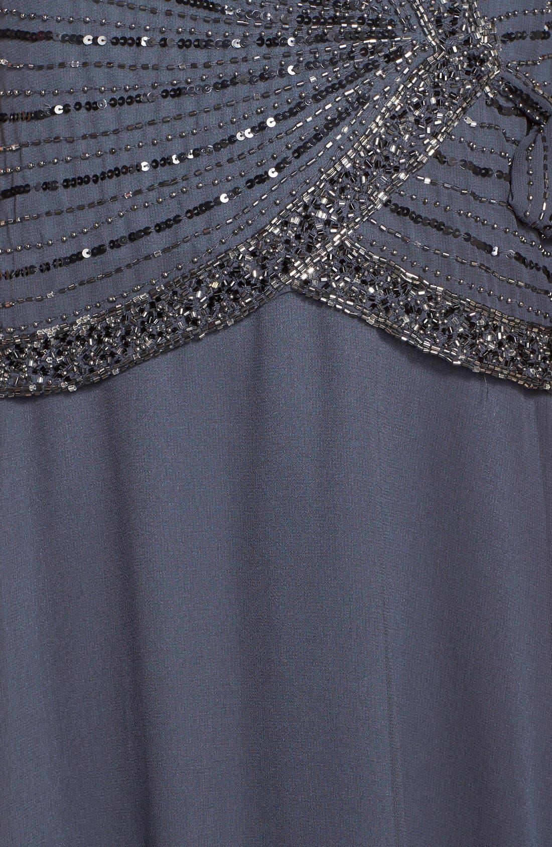 Alternate Image 3  - J Kara Embellished Mock Two-Piece Gown