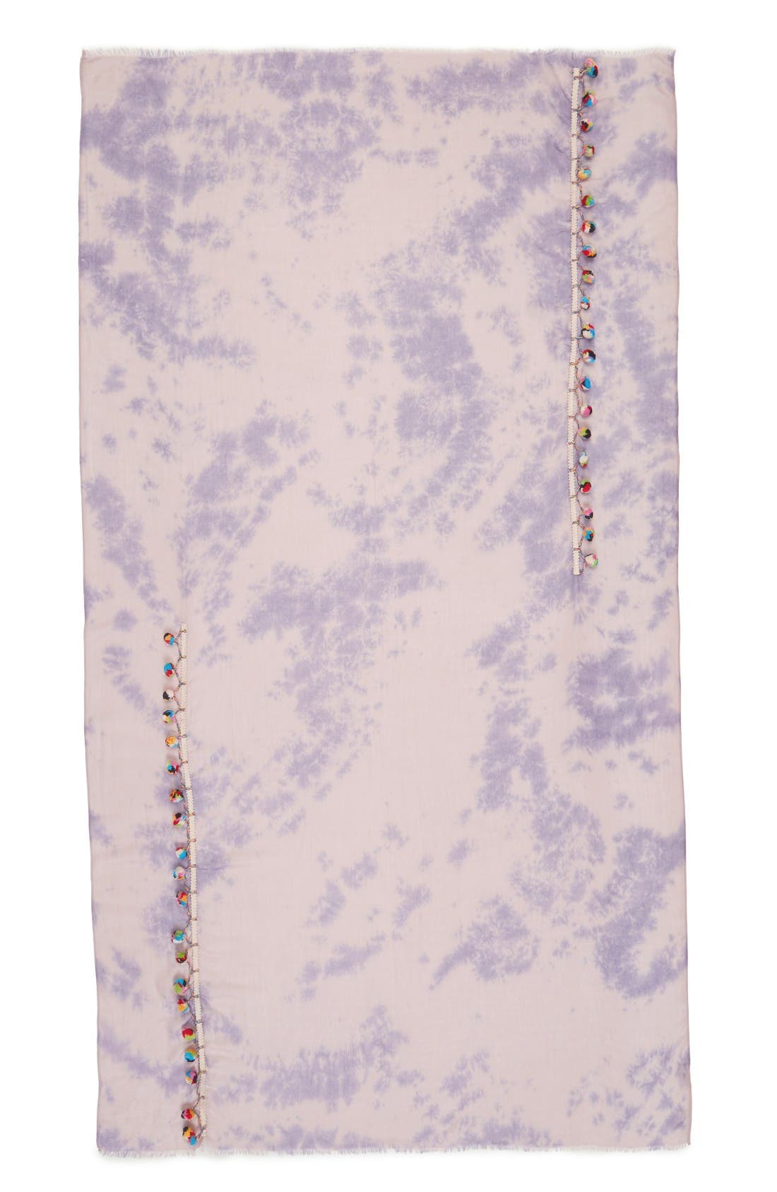Alternate Image 2  - Lulla Collection by Bindya Pom Pom Trim Scarf