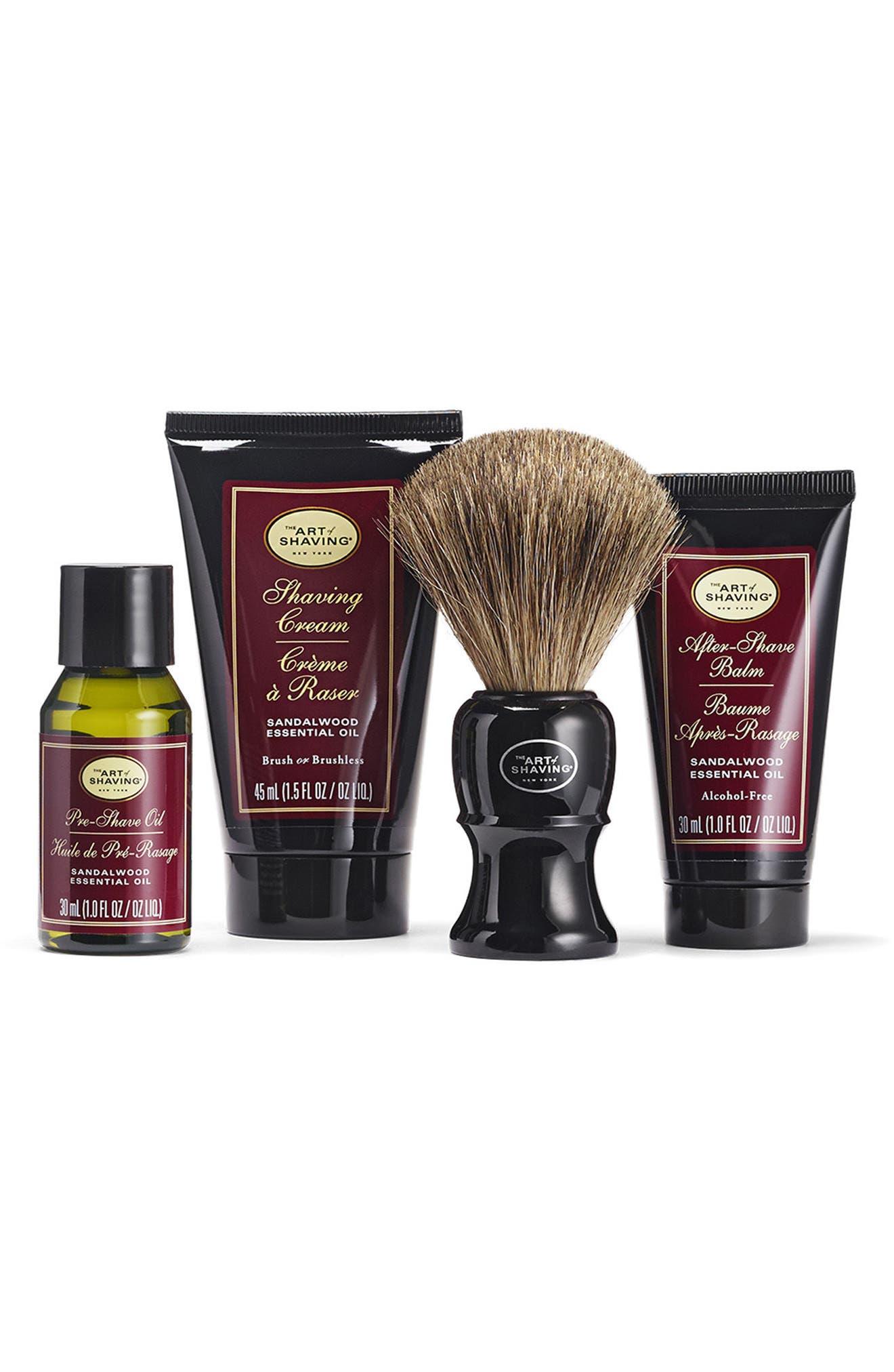 Alternate Image 2  - The Art of Shaving® Sandalwood Mid Size Kit