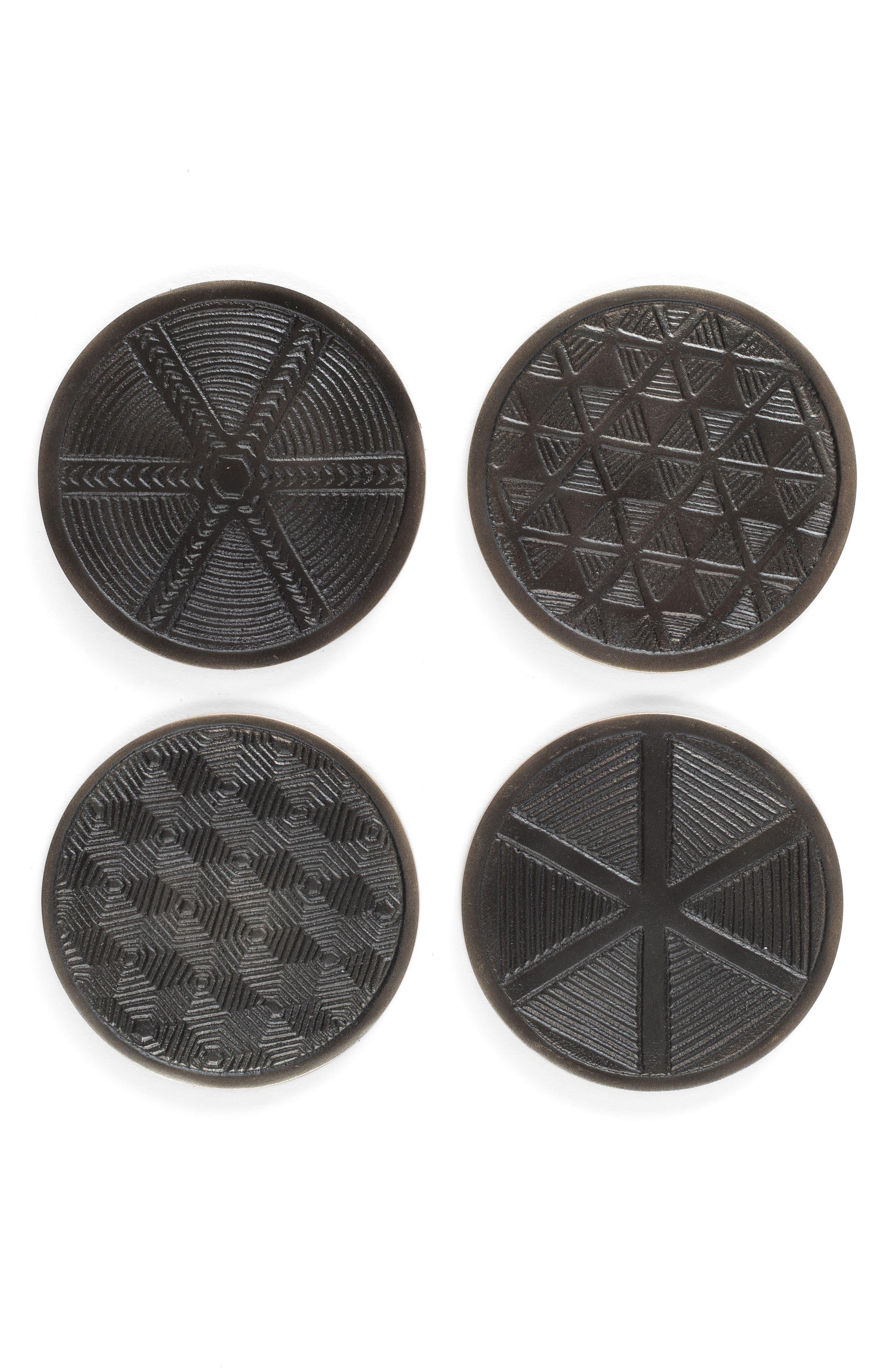 ZESTT Forged Set of 4 Coasters
