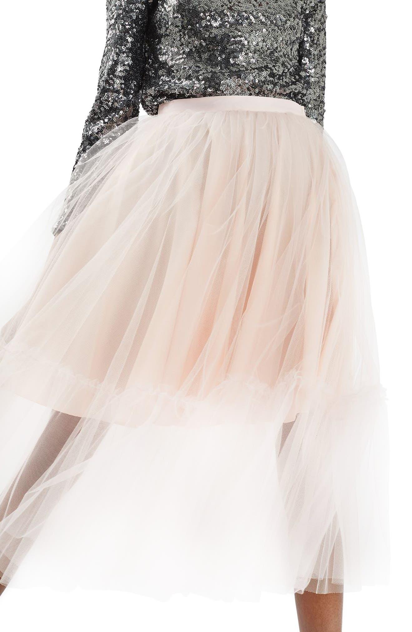 Alternate Image 1 Selected - Topshop Tutu Tulle Skirt