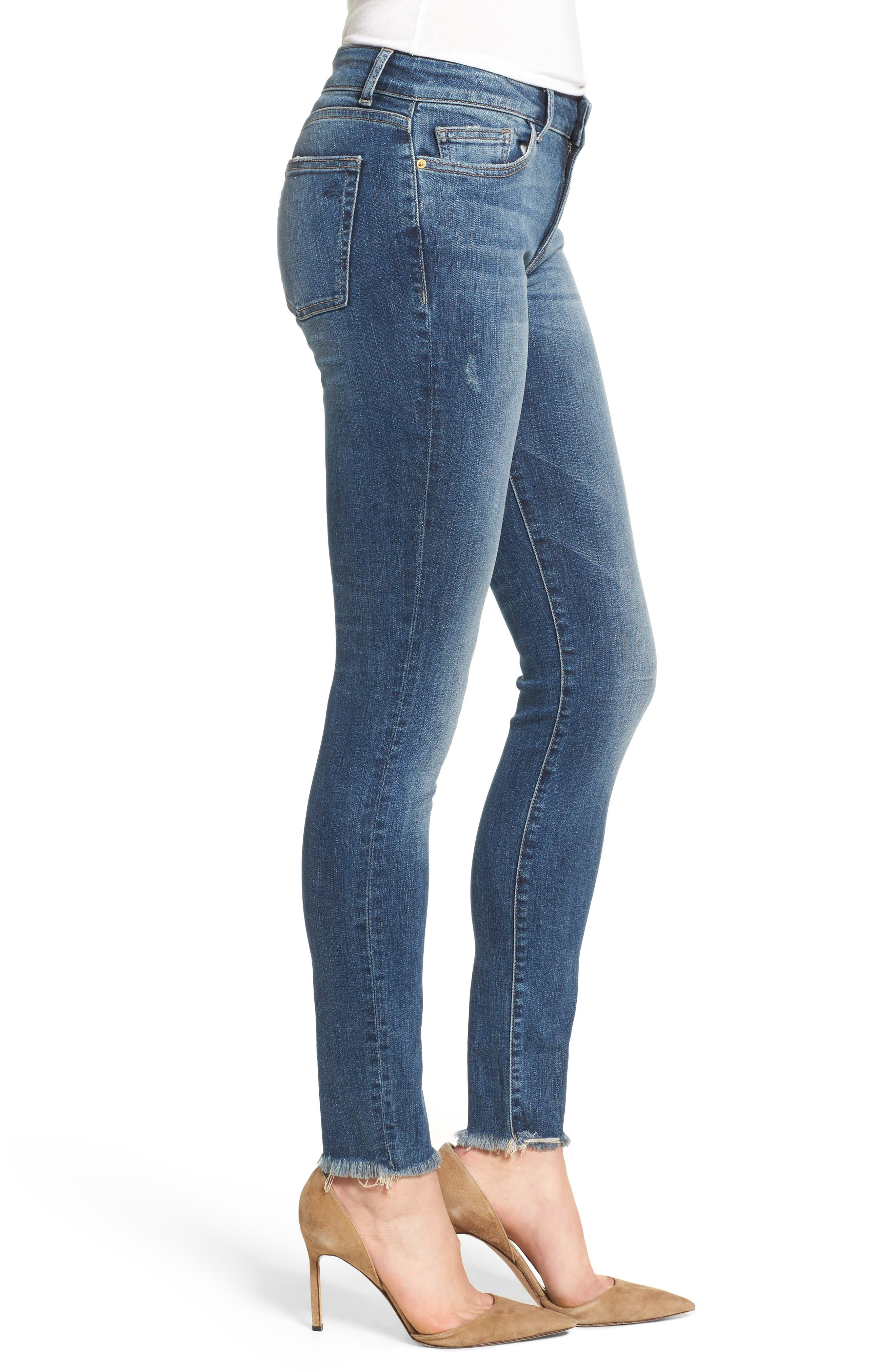 Alternate Image 3  - DL1961 Florence Instasculpt Skinny Jeans (Wicked)