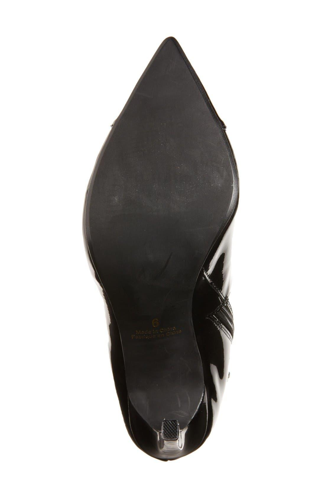 Alternate Image 4  - Jeffrey Campbell Elphaba-2 Corset Lace Bootie (Women)