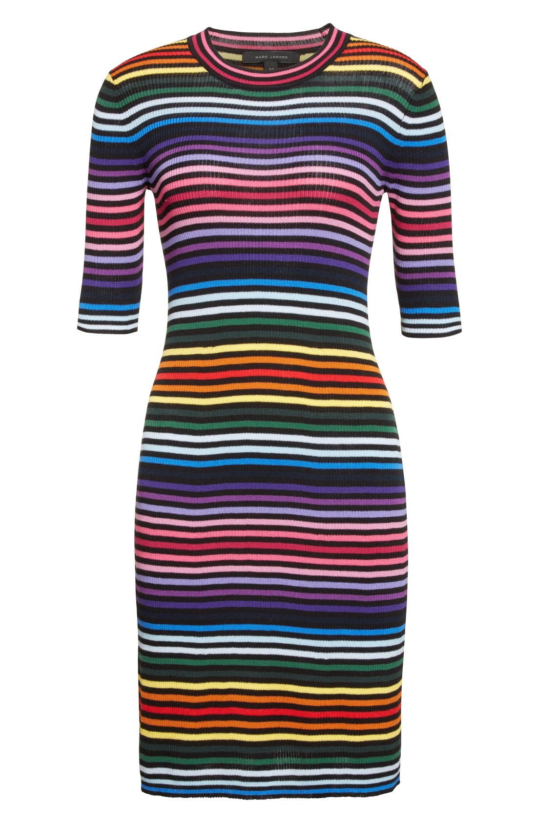 Alternate Image 4  - MARC JACOBS Stripe Cotton T-shirt Dress
