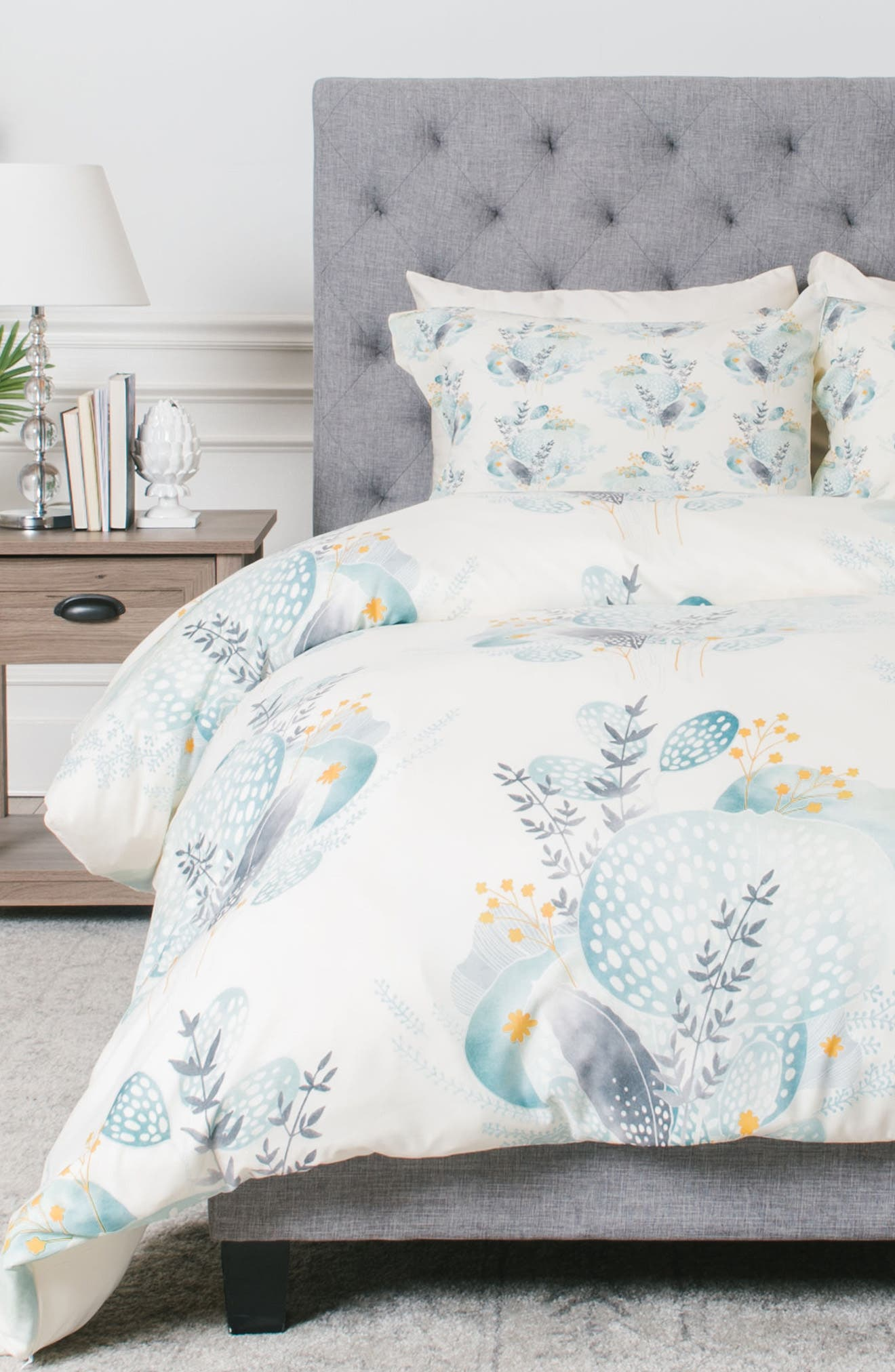 DENY DESIGNS Seaflower Duvet Cover & Sham Set