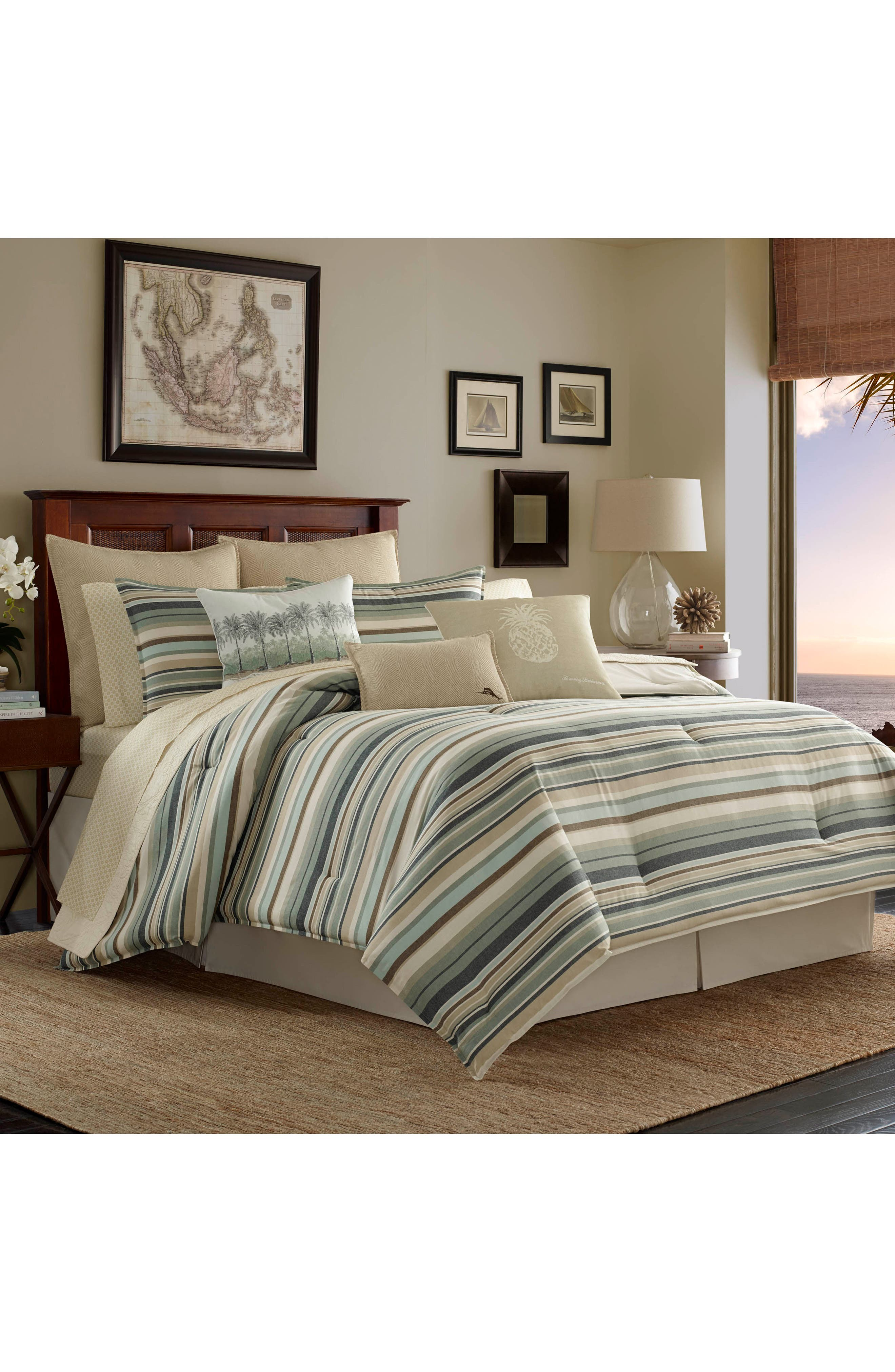 Tommy Bahama Stripe Bedding Collection