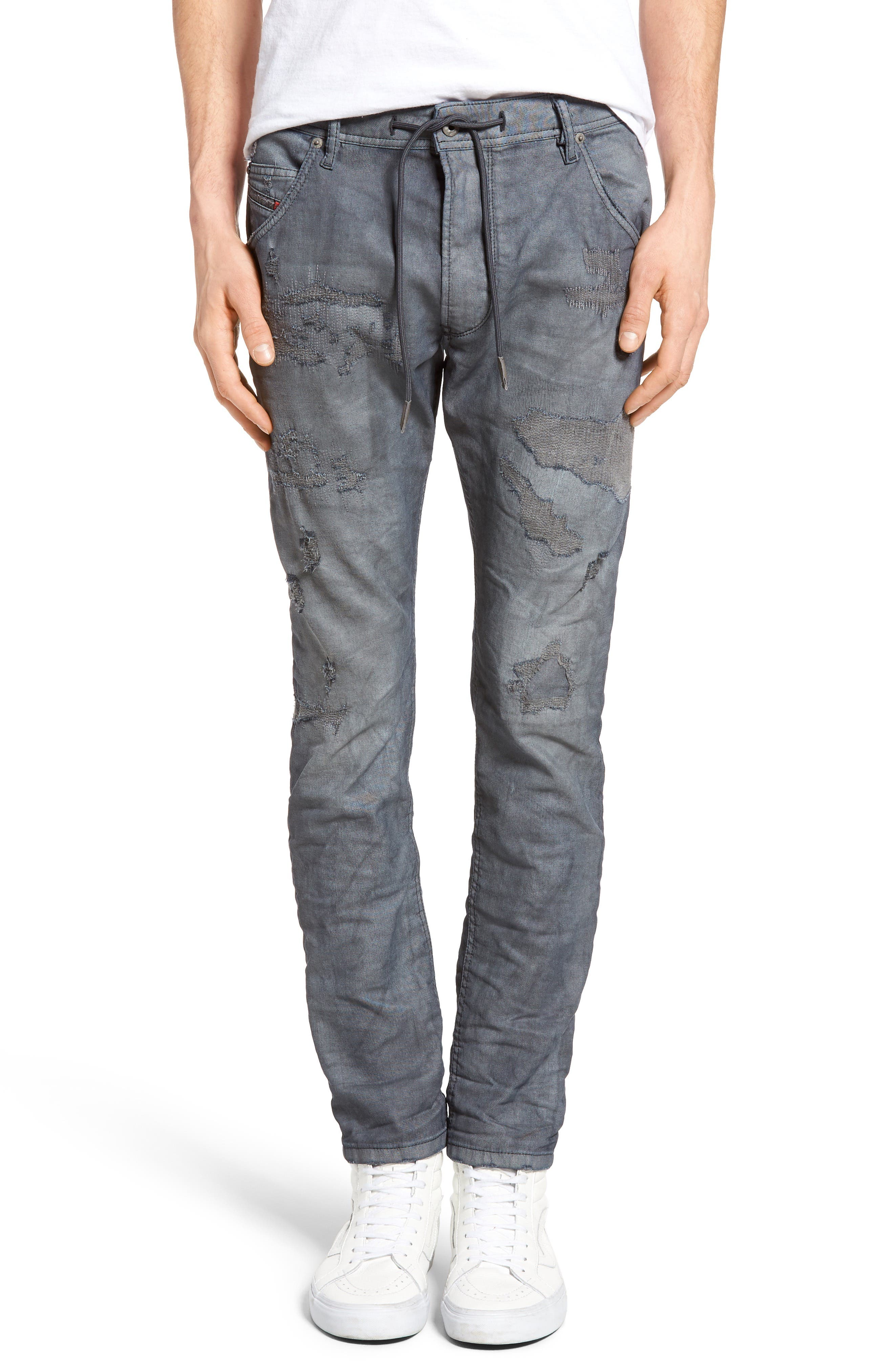 DIESEL® Krooley Jogg Slouchy Slim Fit Jeans (0682L)