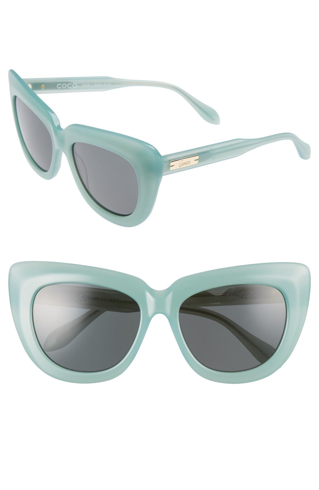 Sonix Coco 55mm Cat Eye Sunglasses