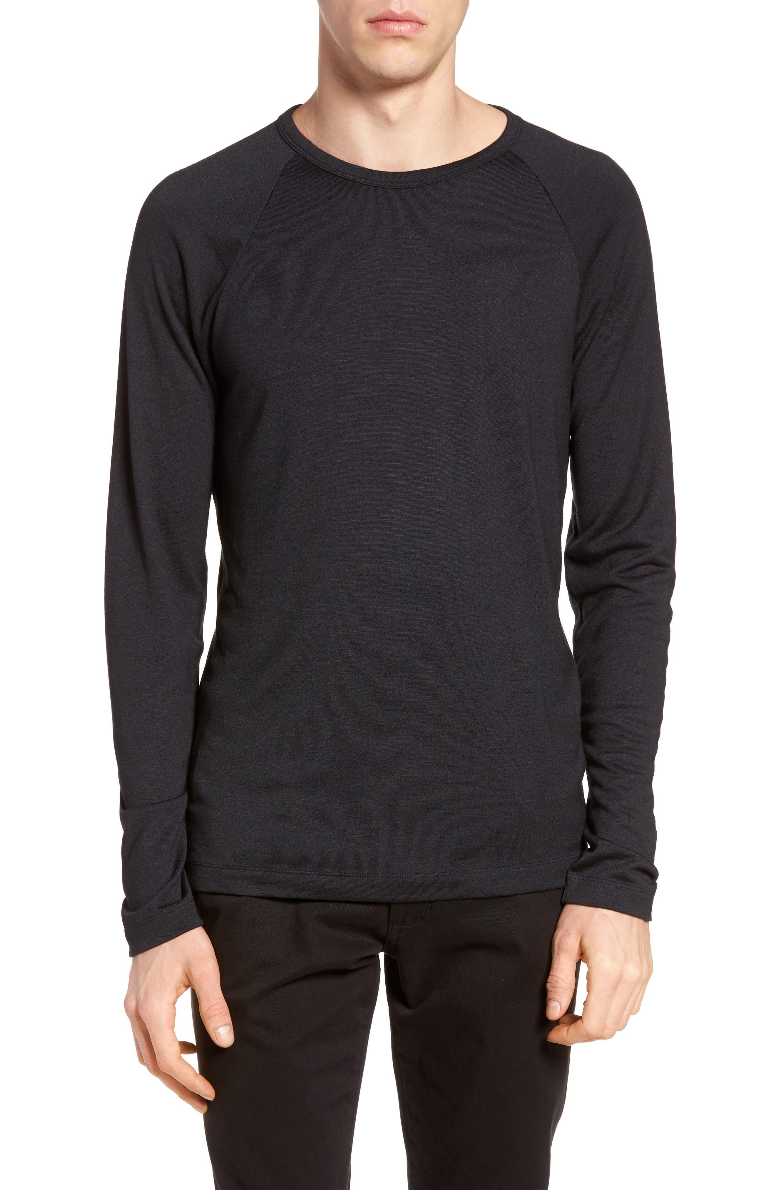 THEORY Dustyn L Anemone Raglan Sleeve T-Shirt
