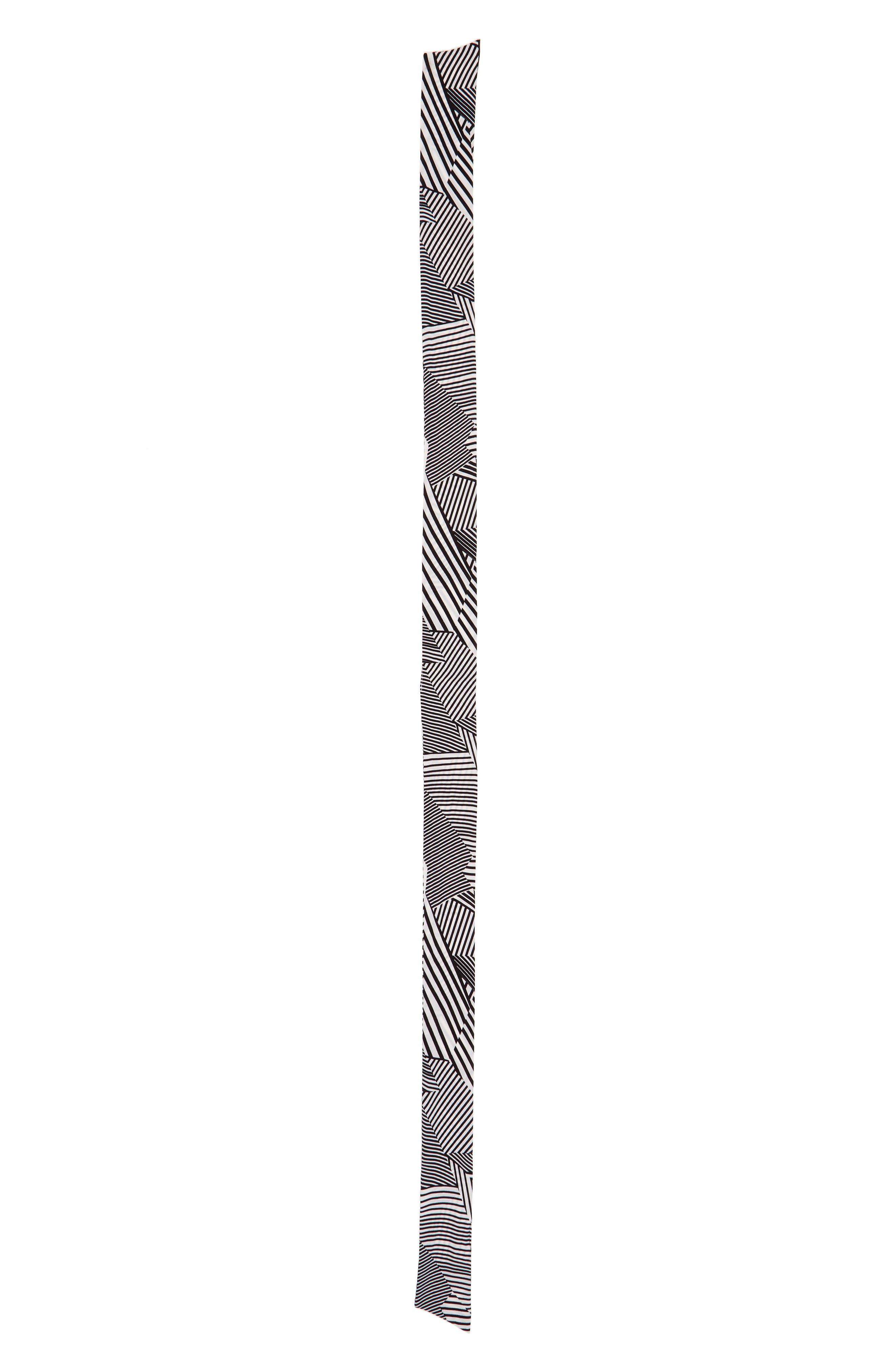 Alternate Image 3  - Sole Society Stripe Skinny Scarf