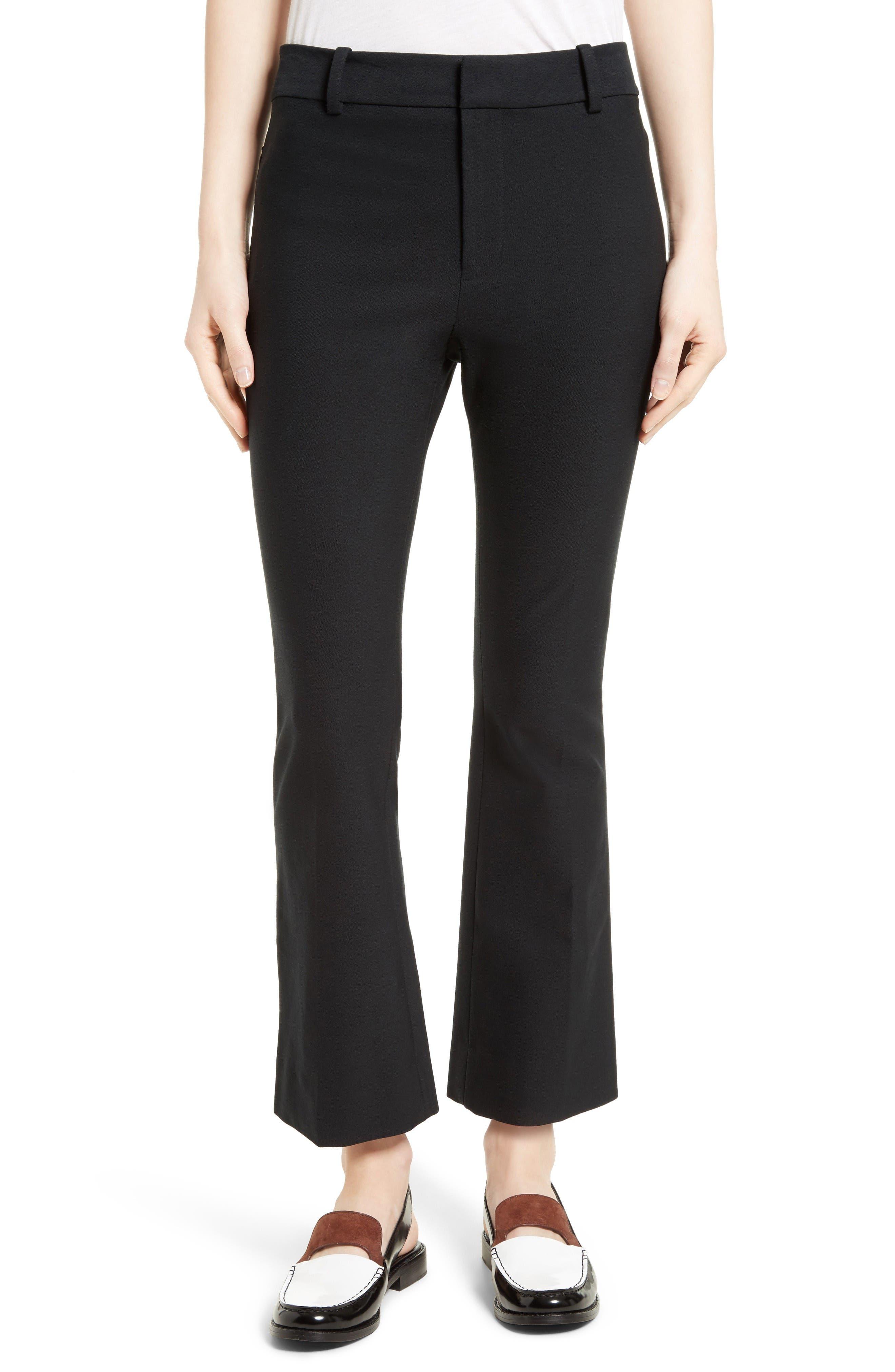 DEREK LAM 10 CROSBY Crop Flare Trousers