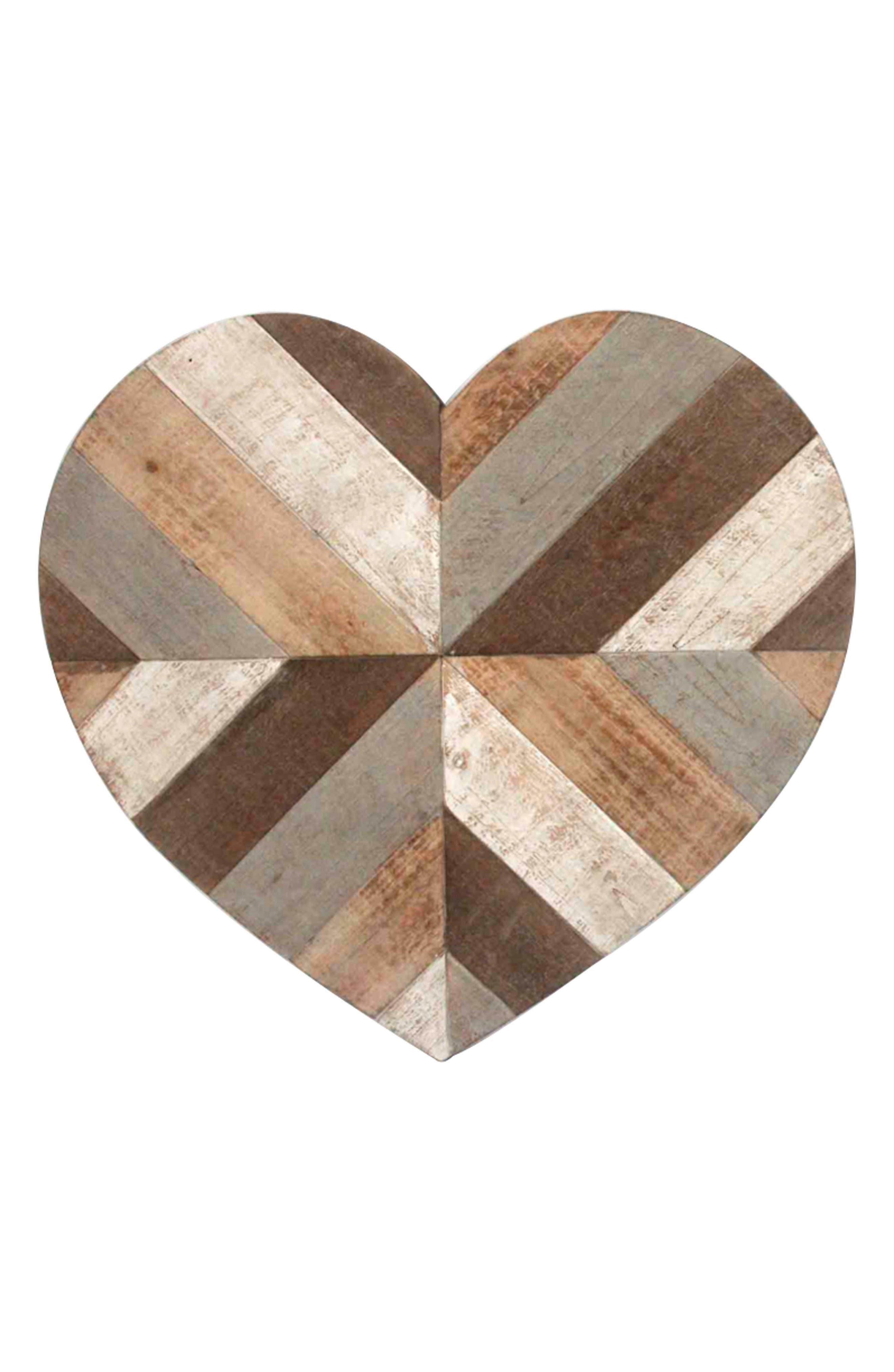 Alternate Image 2  - Crystal Art Gallery Wooden Heart Wall Art