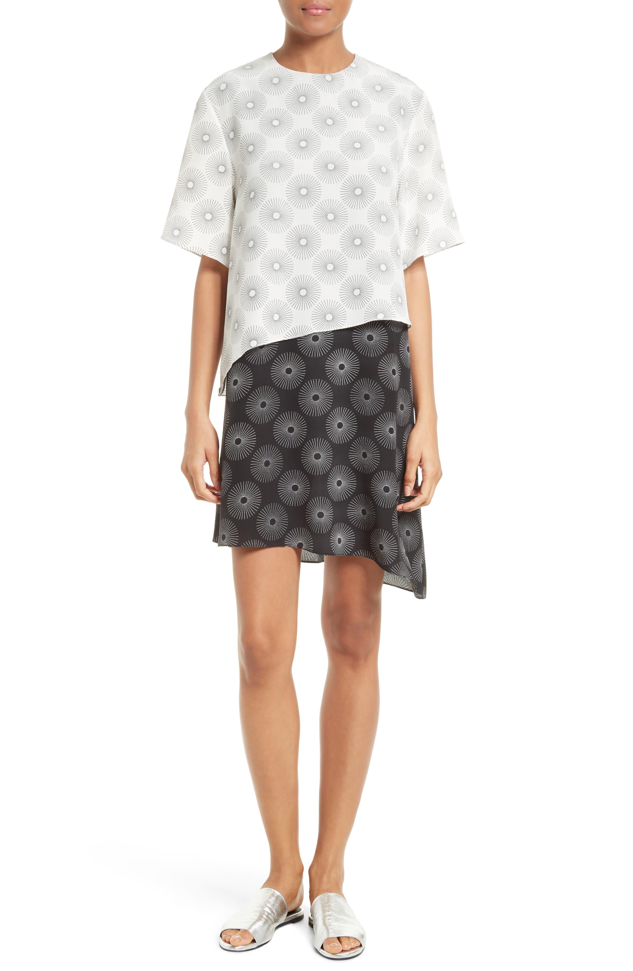 Alternate Image 1 Selected - Diane von Furstenberg Silk Shift Dress