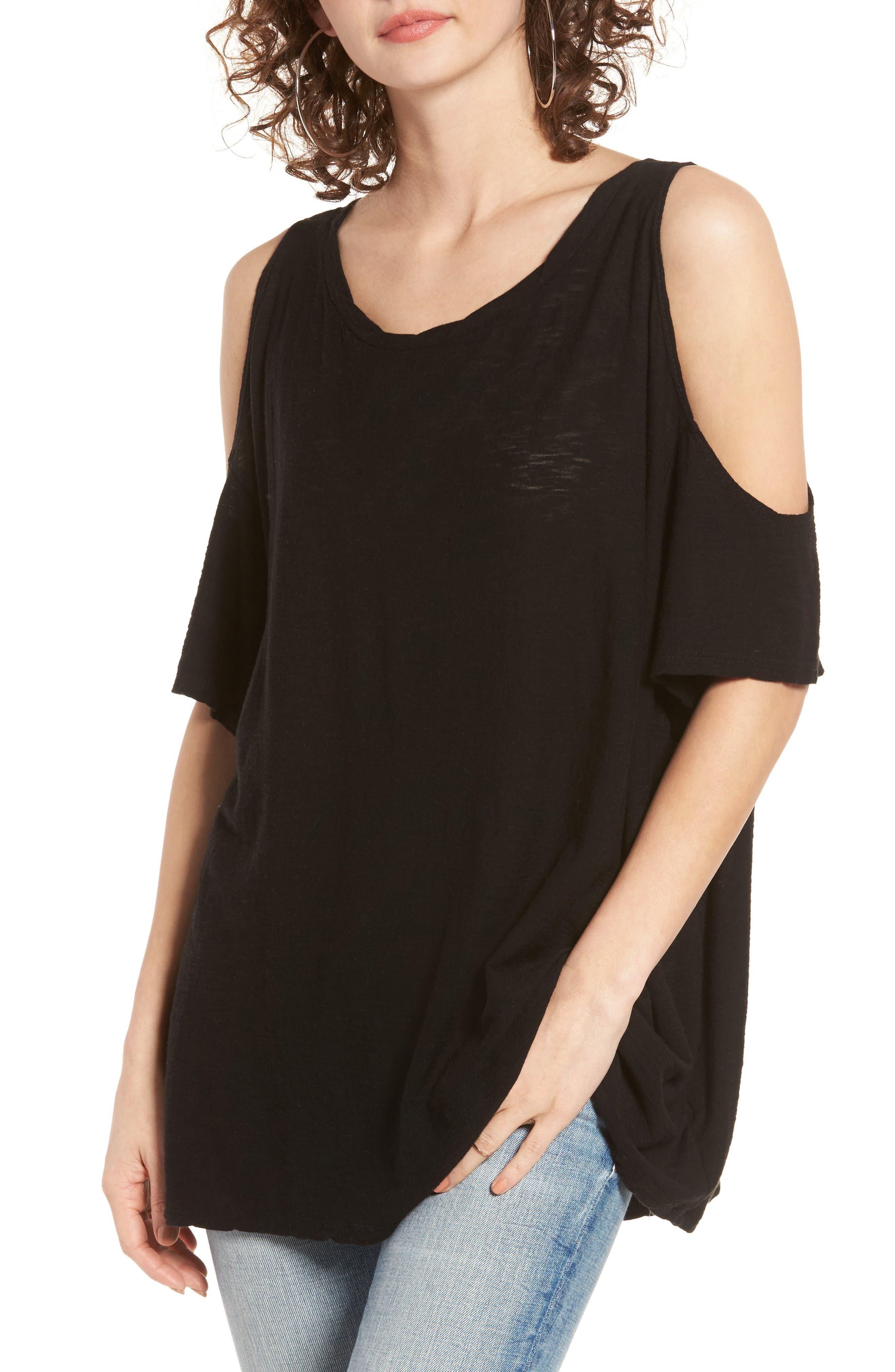 Main Image - Michelle by Comune Frisco Cold Shoulder Tee