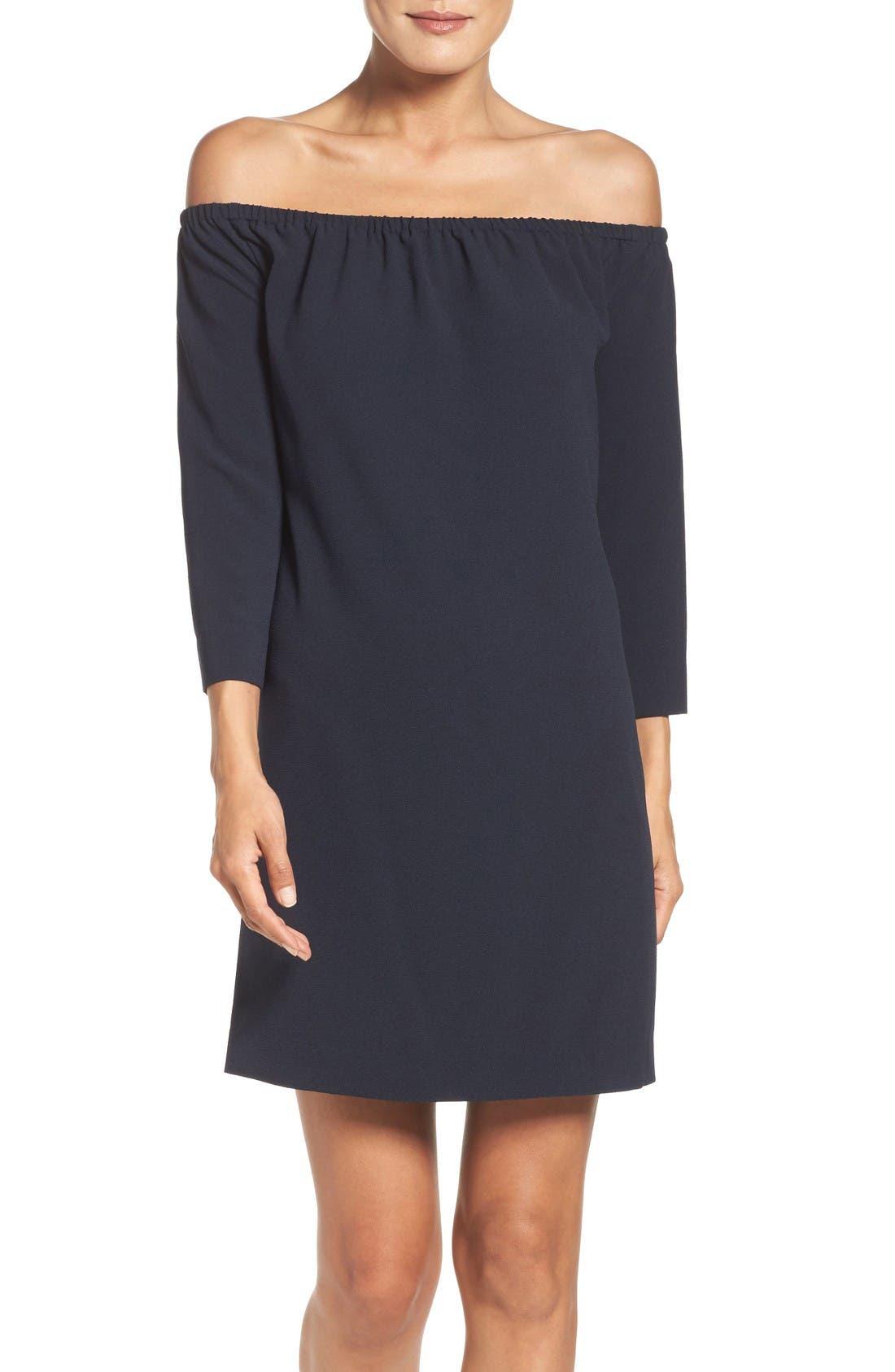 Felicity & Coco Lark Off the Shoulder Shift Dress (Nordstrom Exclusive)
