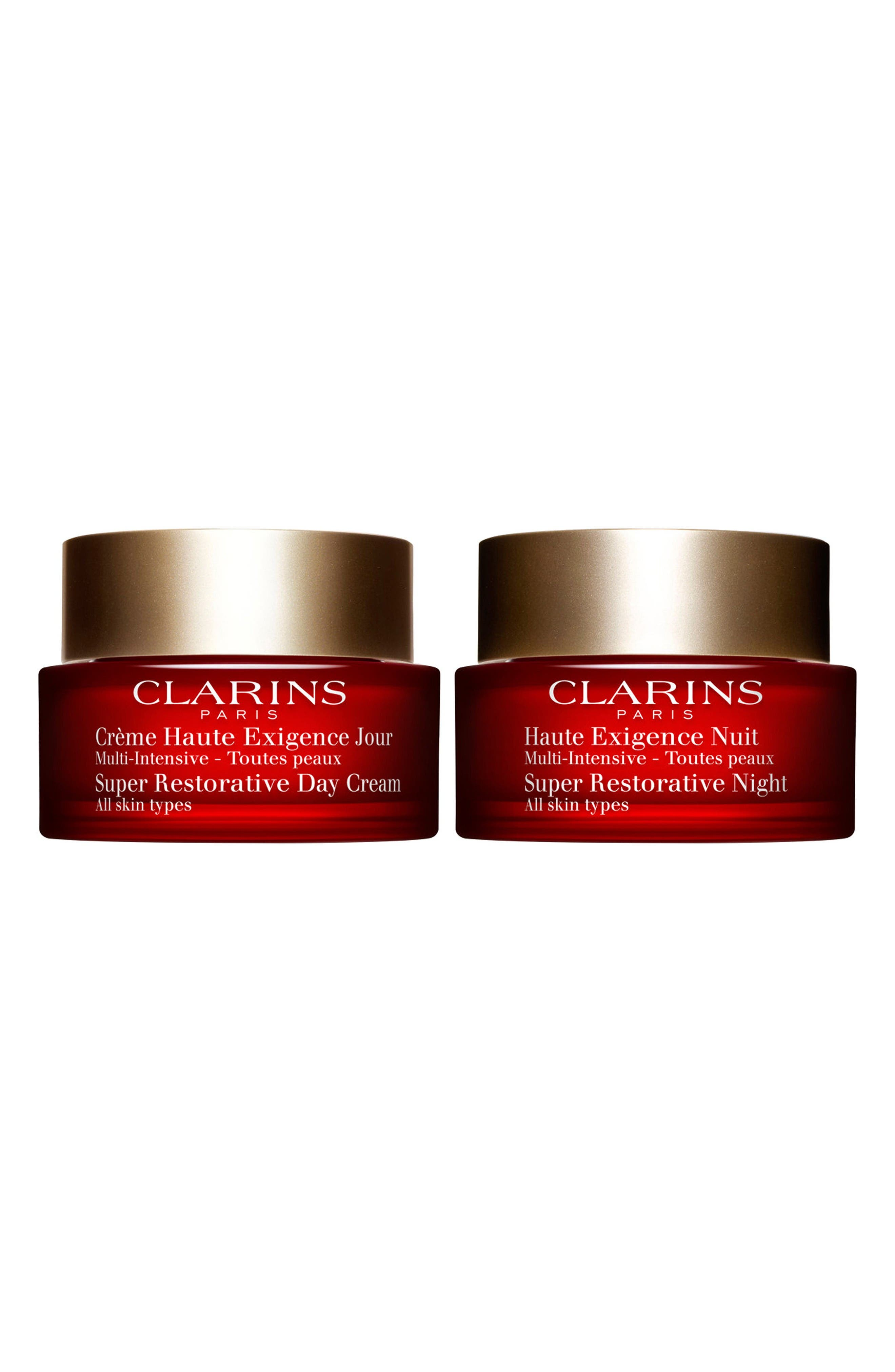 Clarins Super Restorative Anti-Aging Duo ($262 Value)