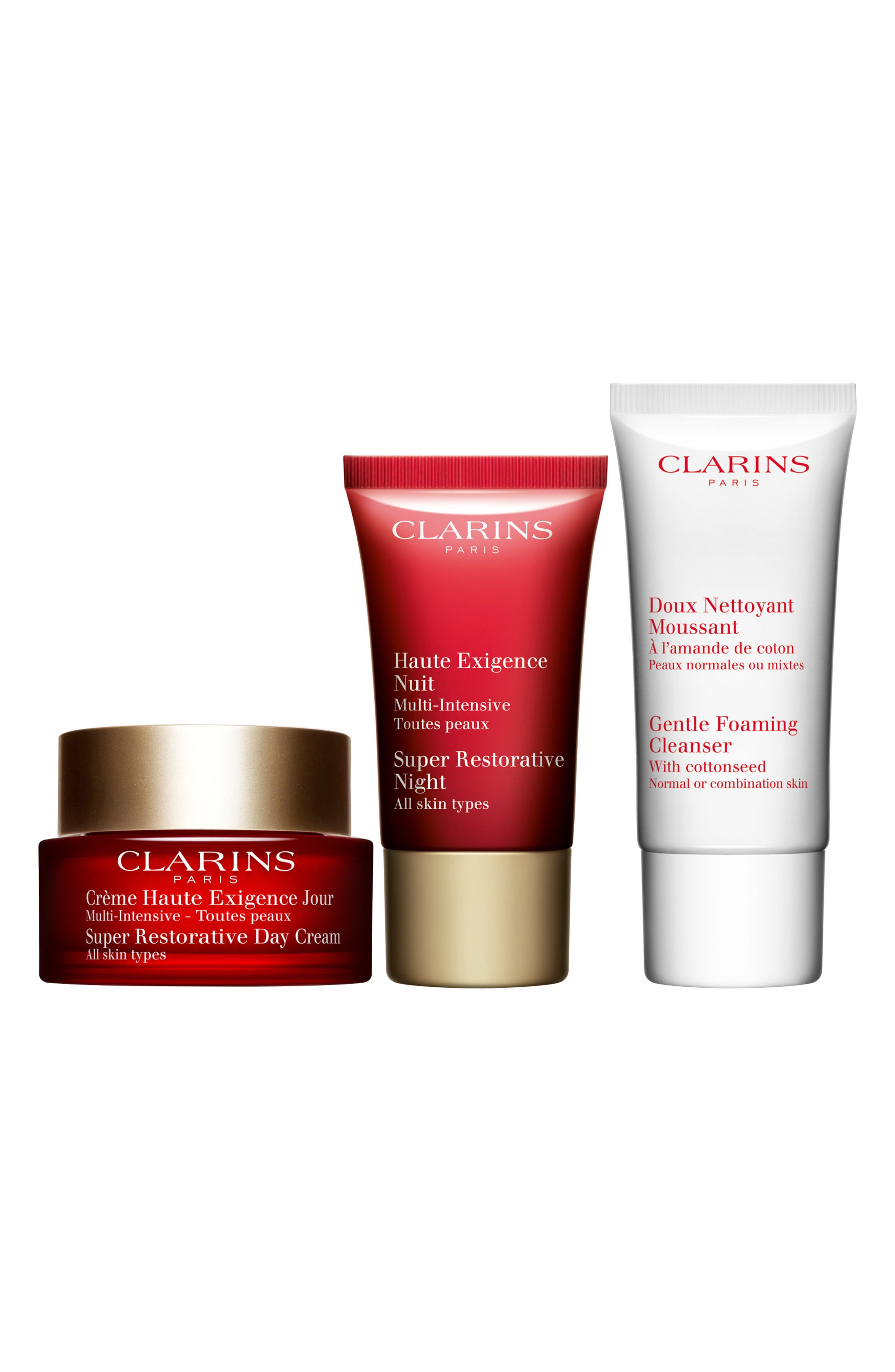Clarins Super Restorative Skin Starter Kit (Over $178 Value)