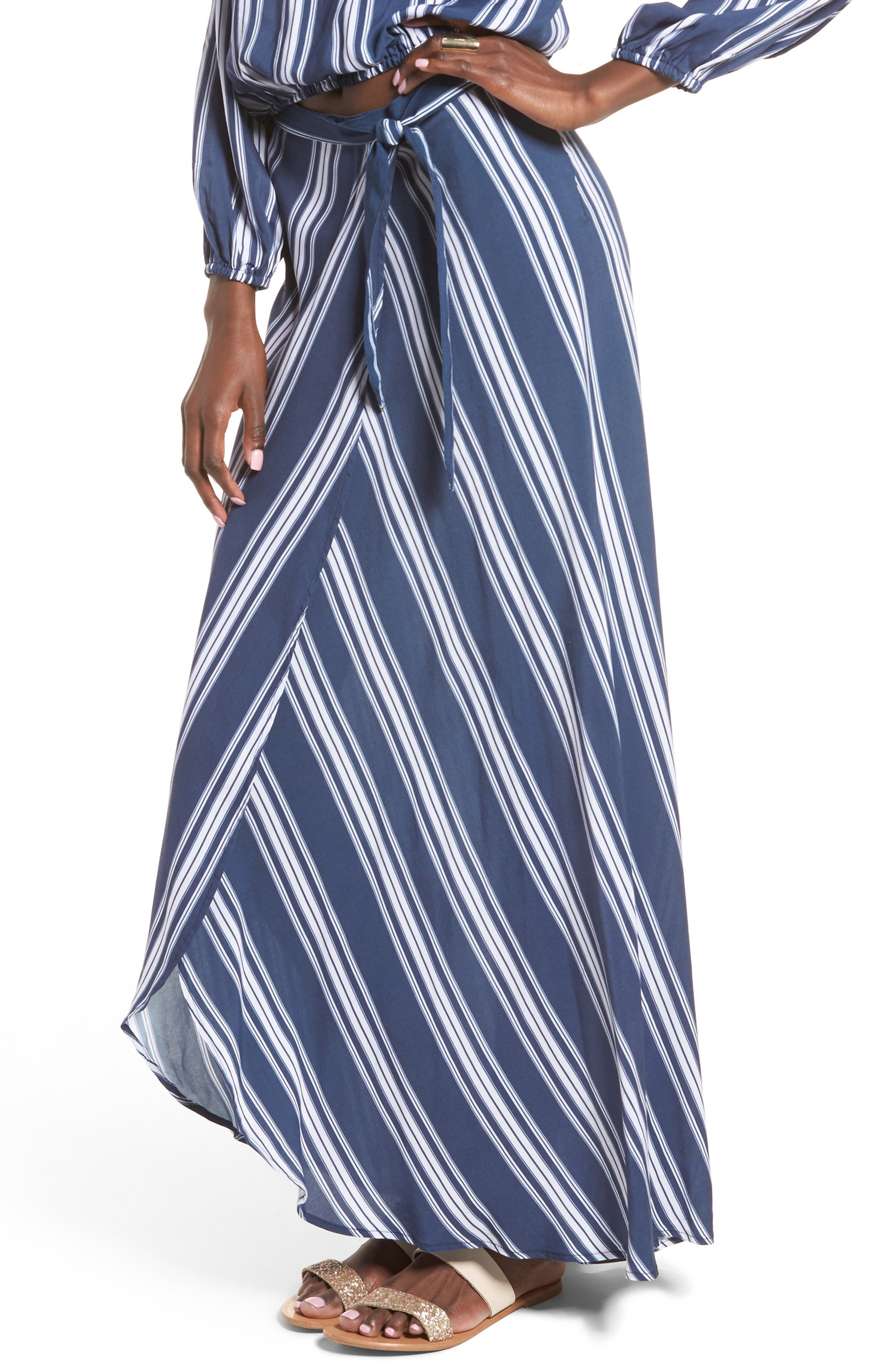 SHOW ME YOUR MUMU Siren Wrap Skirt