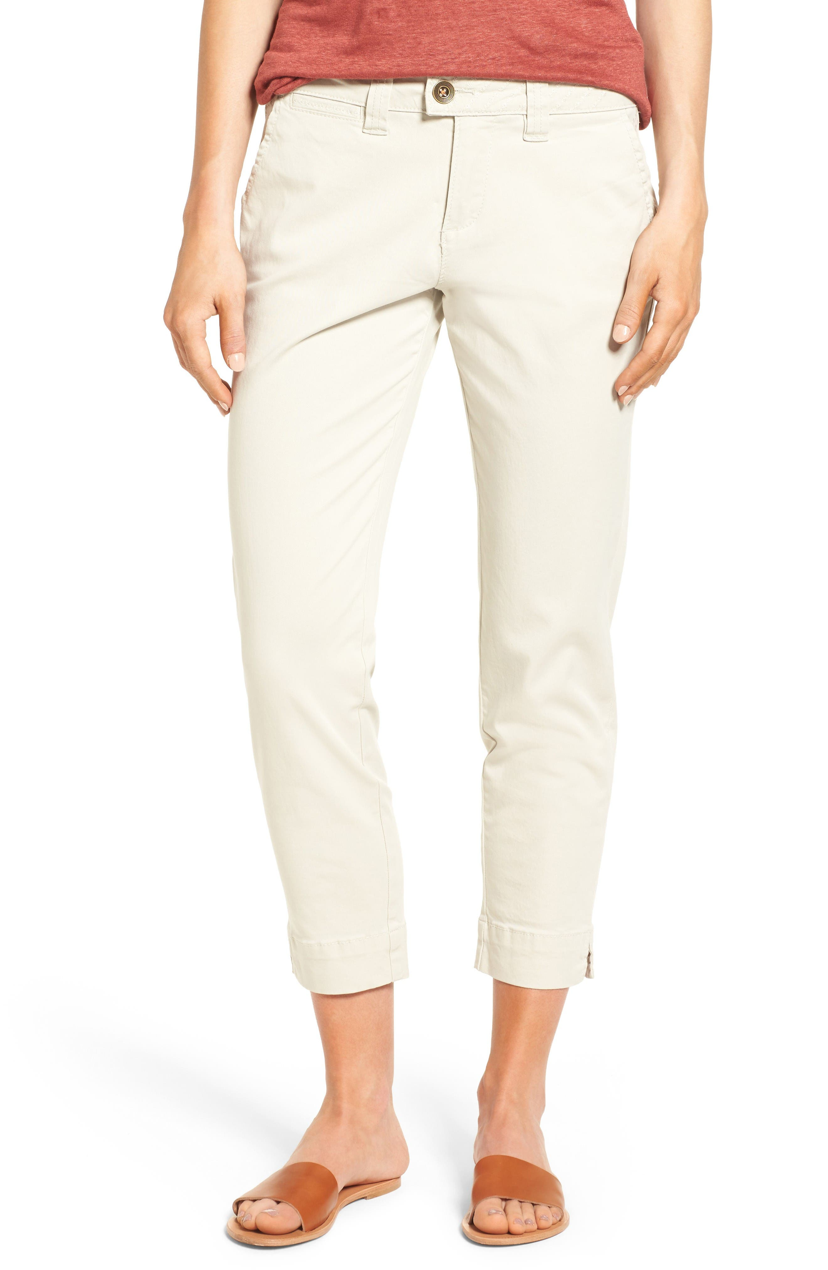 Jag Jeans Creston Ankle Crop Stretch Twill Pants (Regular & Petite)
