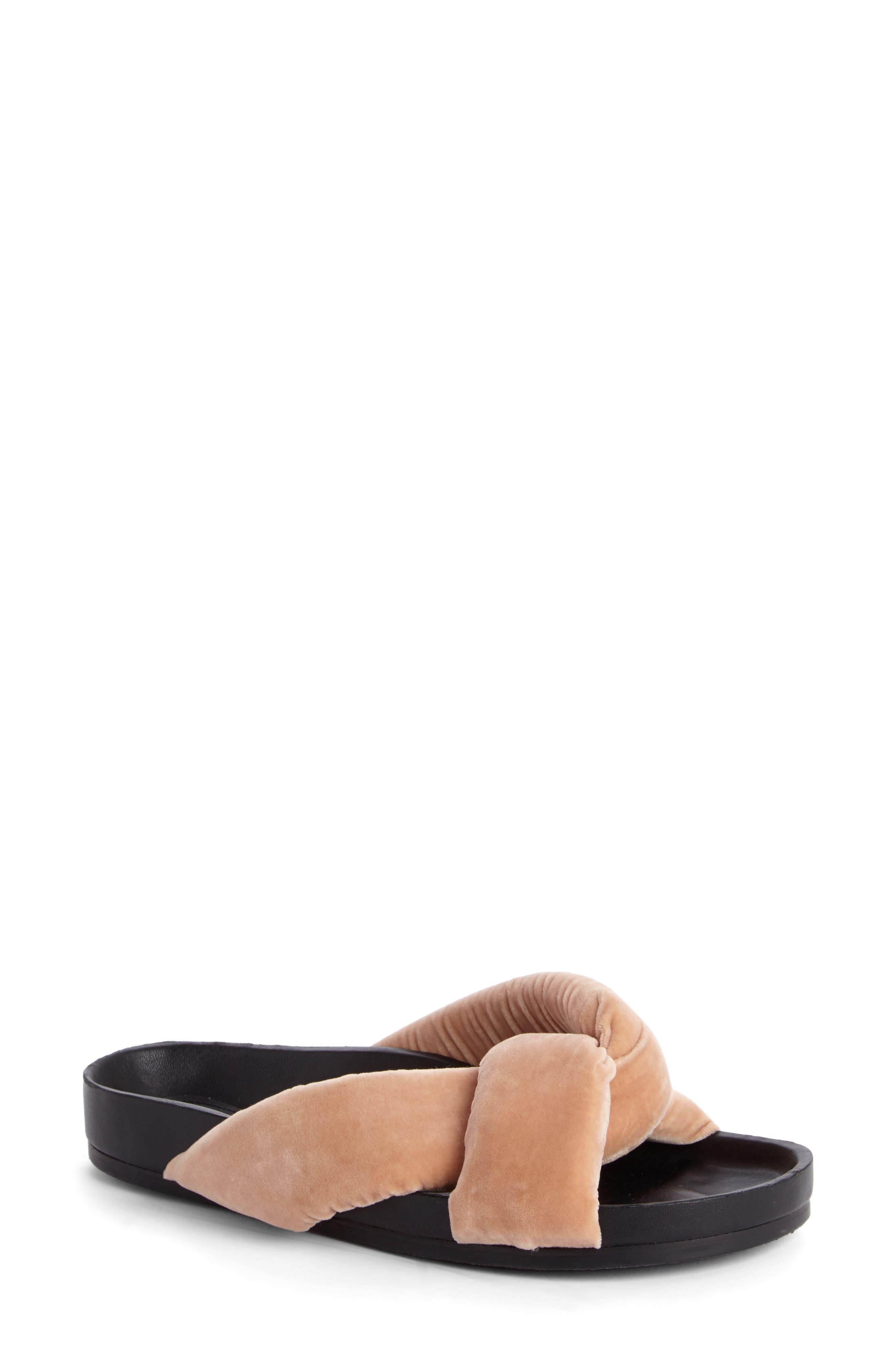 CHLOÉ Nolan Crisscross Slide Sandal
