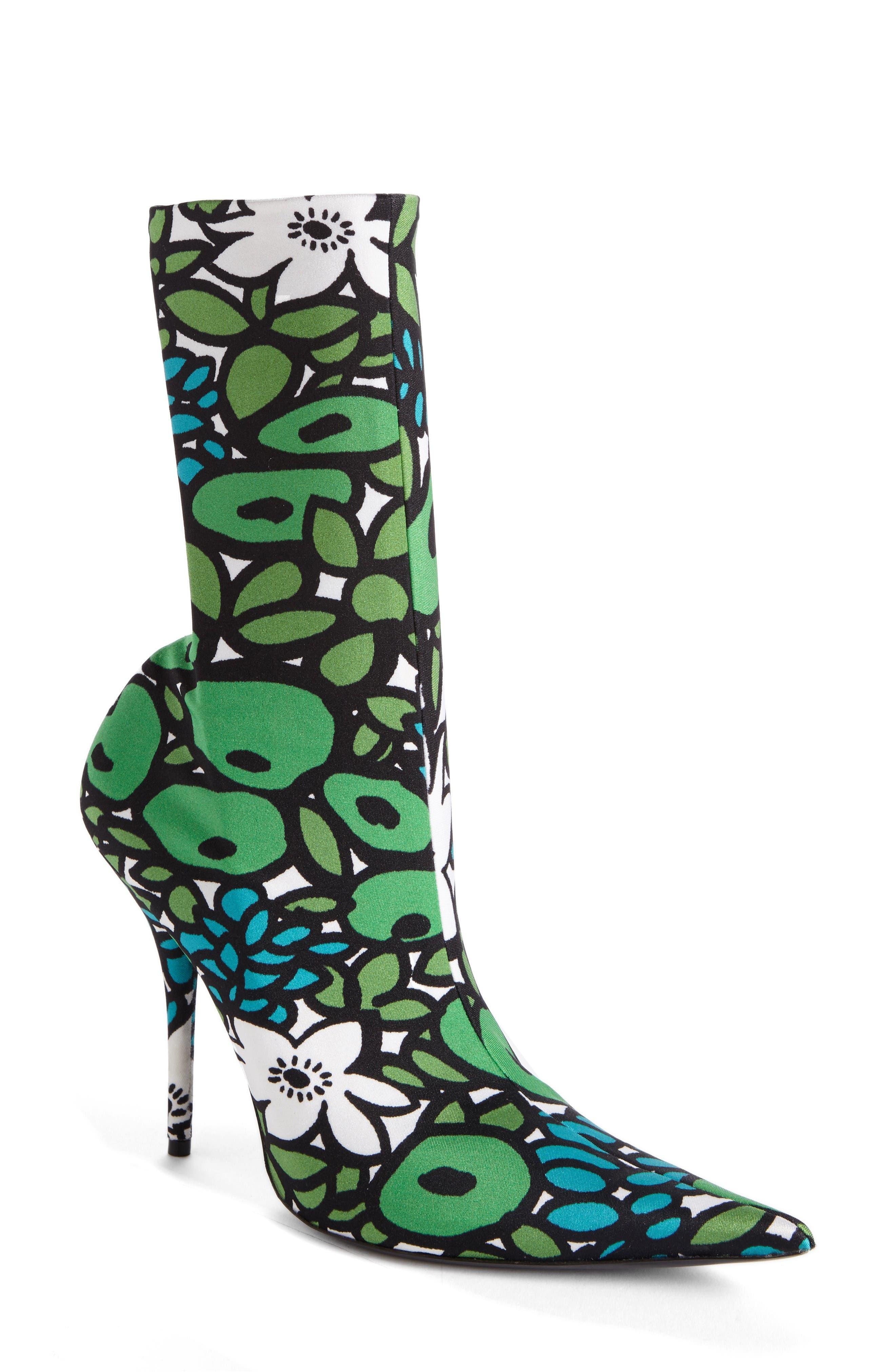 Alternate Image 1 Selected - Balenciaga Pointy Toe Mid Boot (Women)