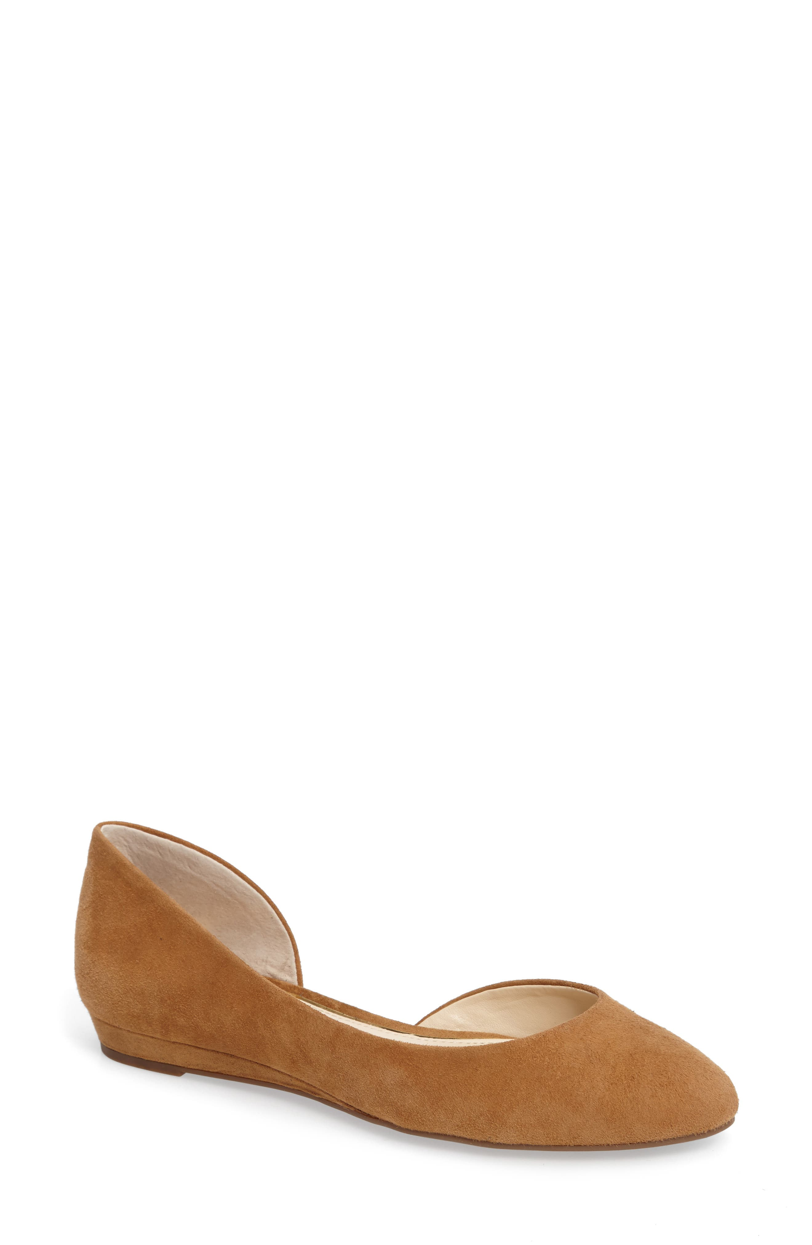 Alternate Image 1 Selected - Jessica Simpson Lynsey d'Orsay Flat (Women)