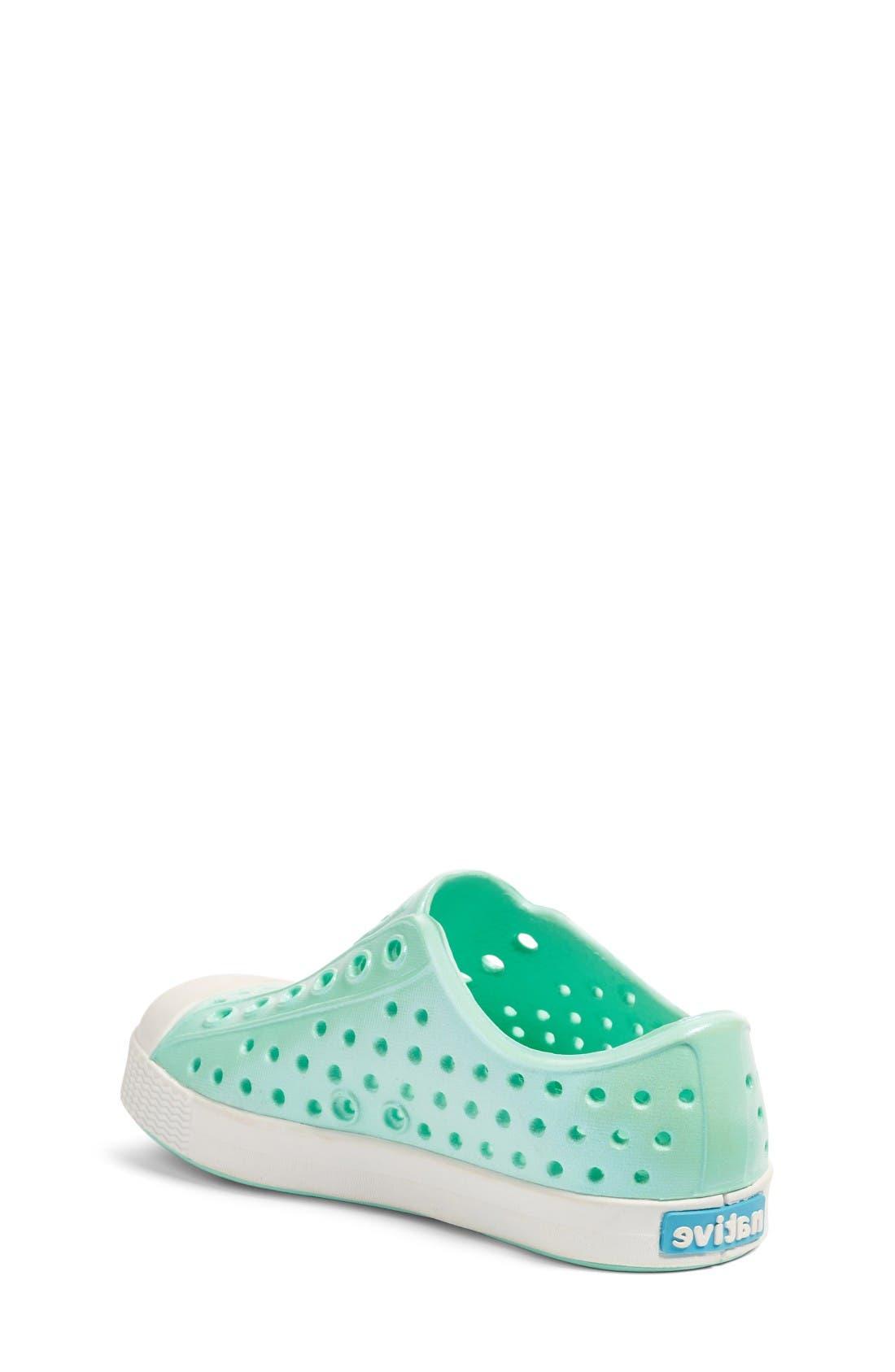 Alternate Image 2  - Native Shoes 'Jefferson' Iridescent Slip-On Sneaker (Baby, Walker, Toddler & Little Kid)