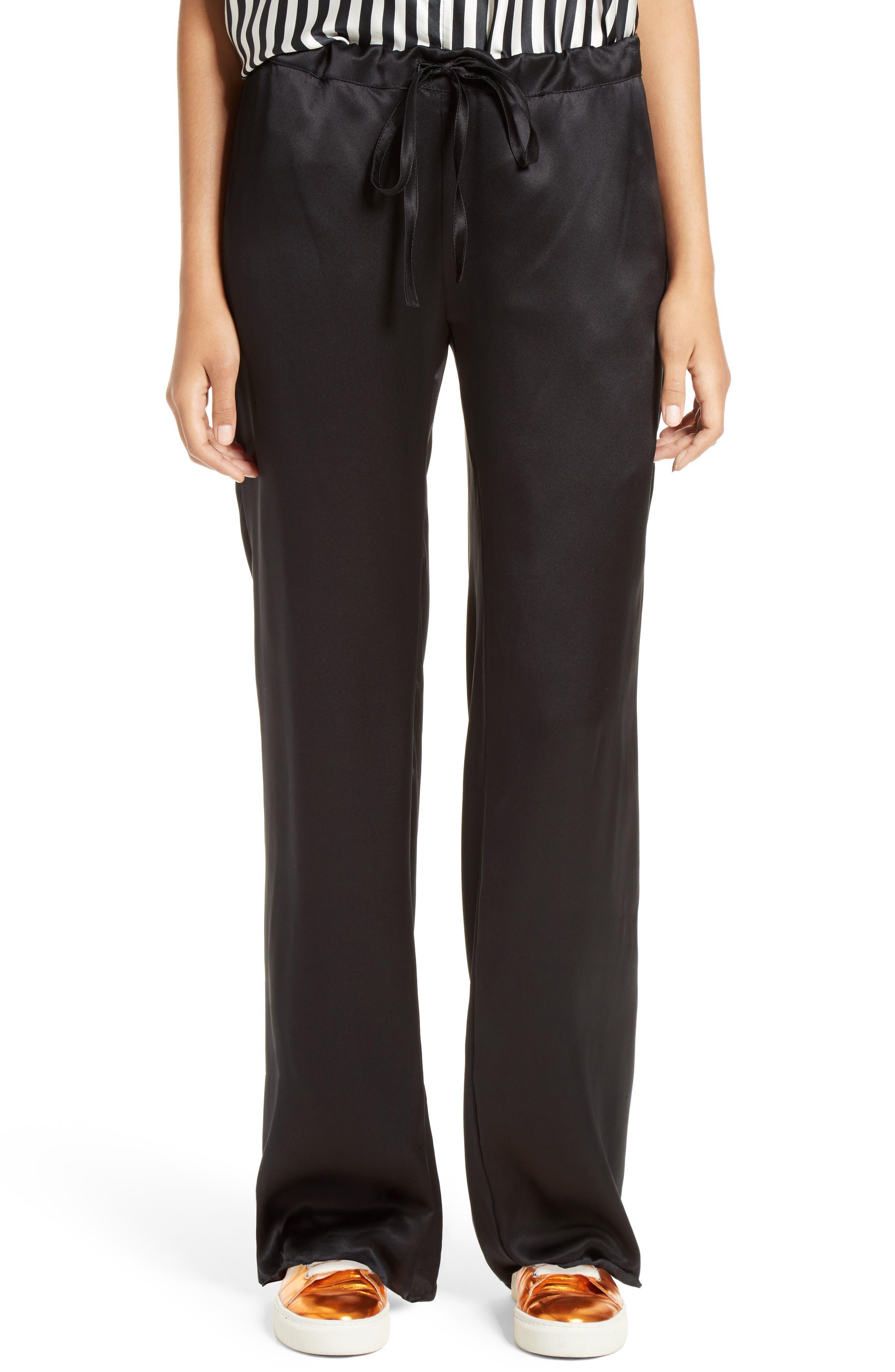 Marques'Almeida Silk Pajama Pants