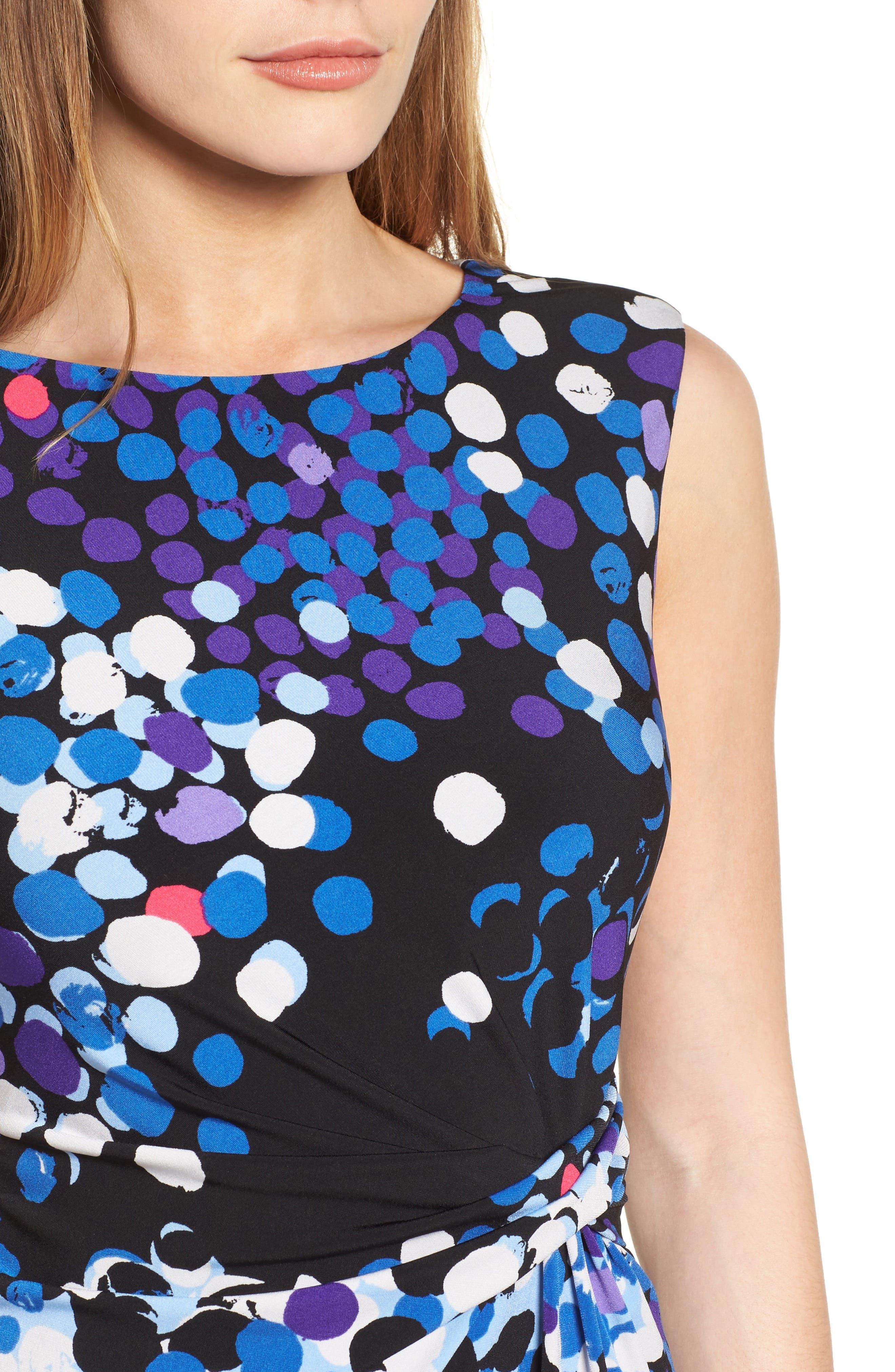 Alternate Image 4  - Anne Klein Side Twist Jersey Sheath Dress