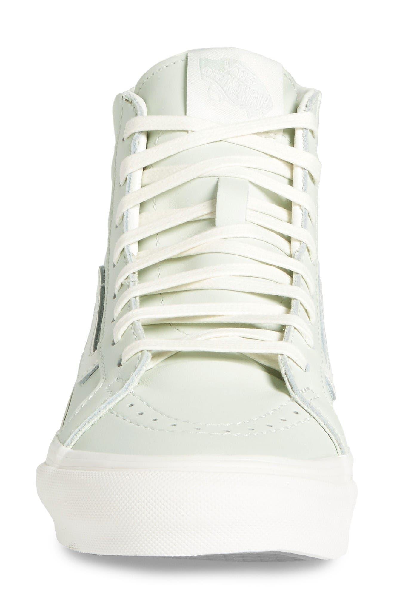 Alternate Image 3  - Vans 'Sk8-Hi' Slim Zip Sneaker (Women)