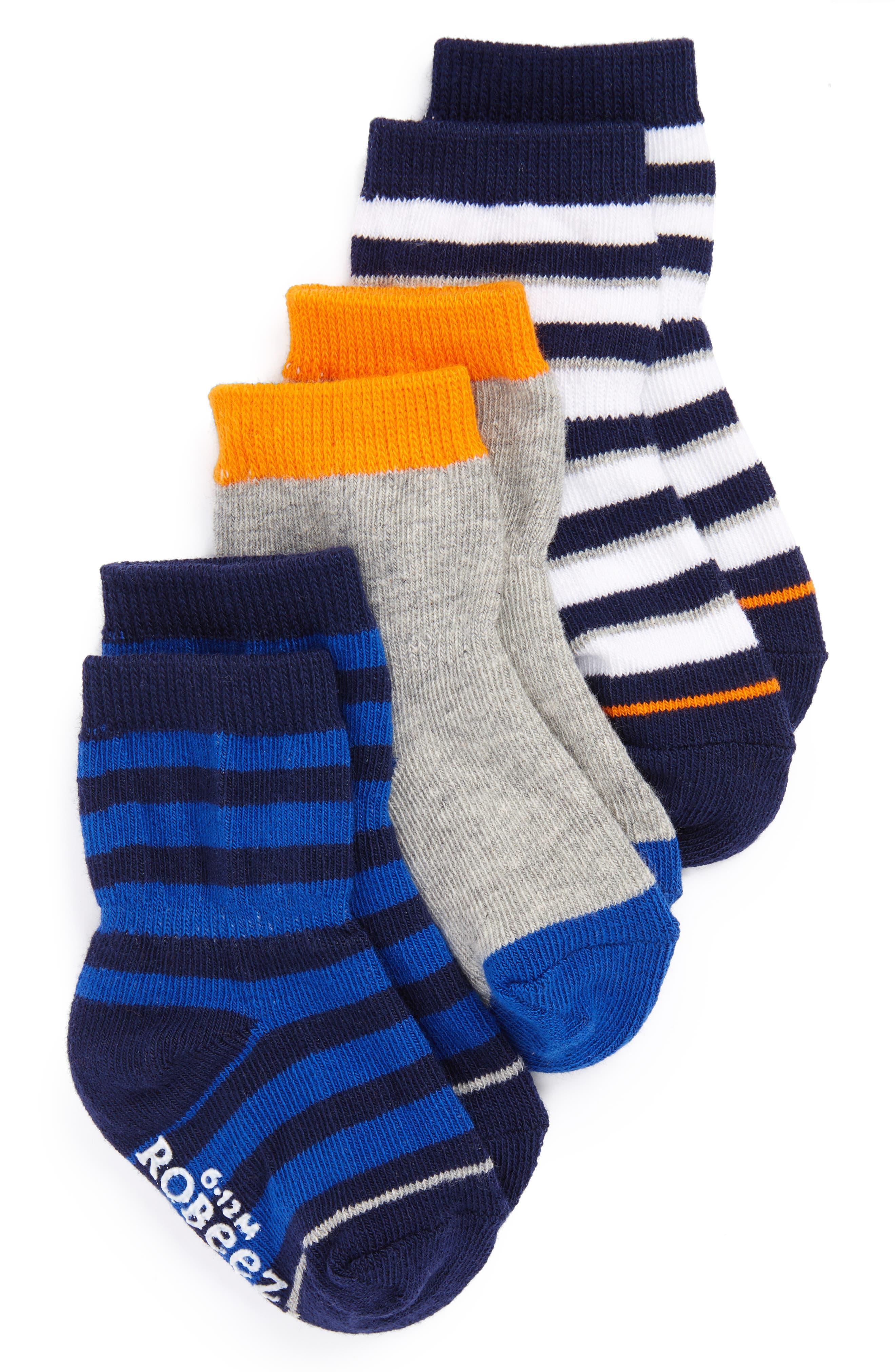 ROBEEZ® Assorted 3-Pack Socks
