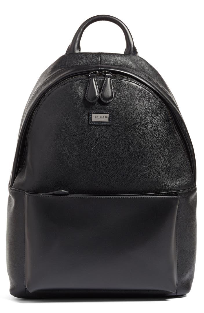 ted baker london leather backpack nordstrom. Black Bedroom Furniture Sets. Home Design Ideas