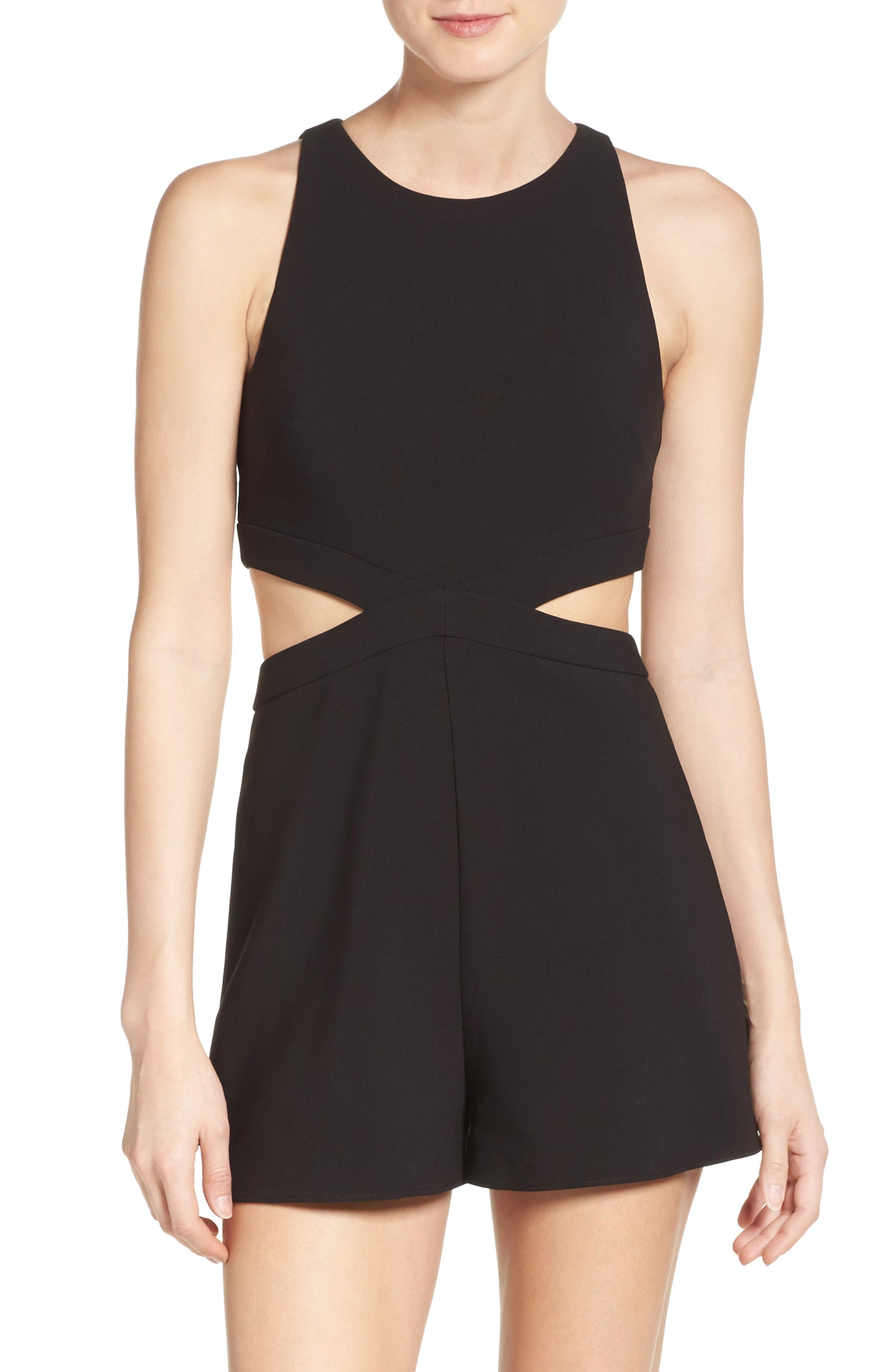 Likely Encino Cutout Romper