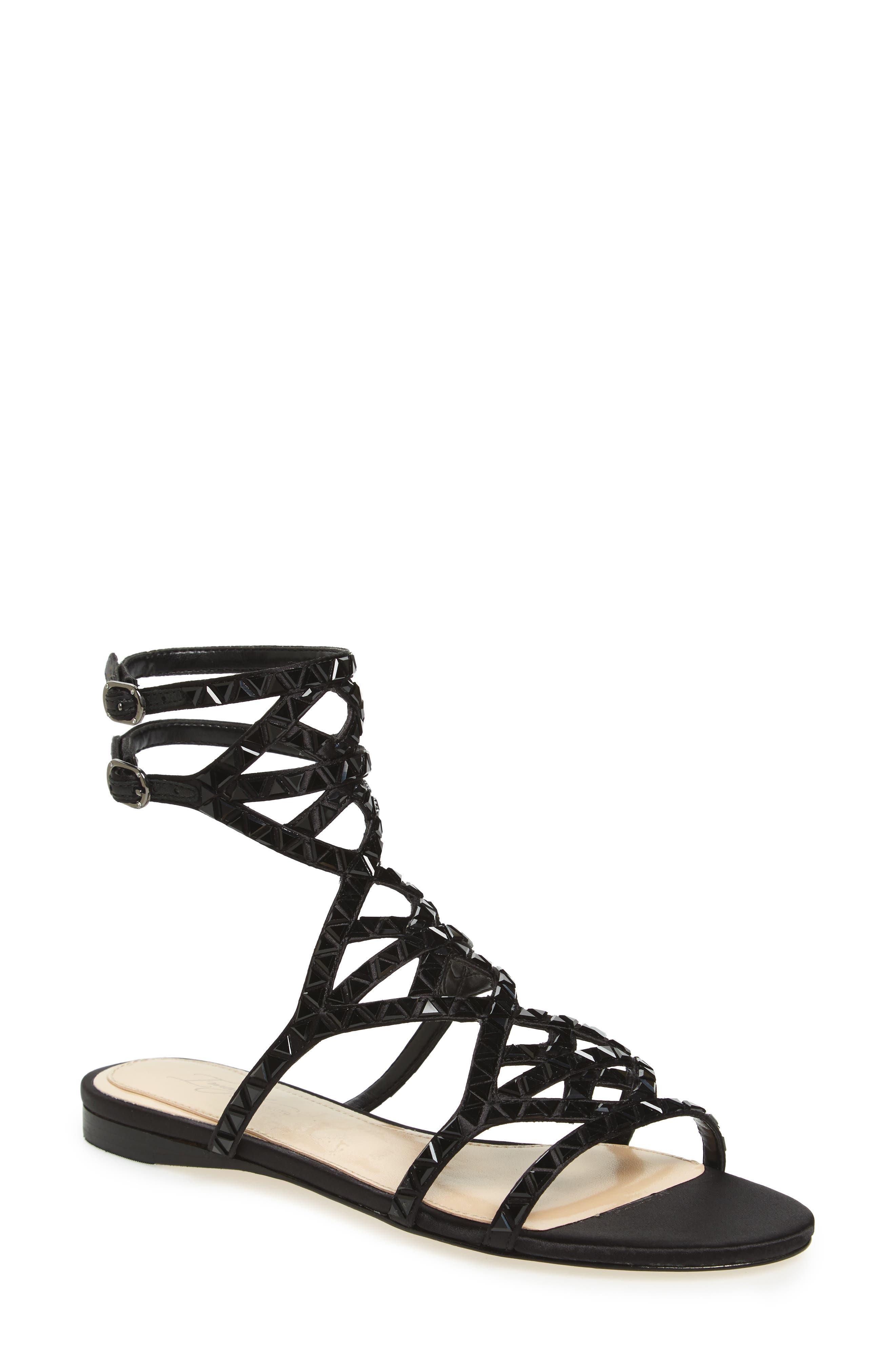 Alternate Image 1 Selected - Imagine Vince Camuto Rettle Embellished Sandal (Women)