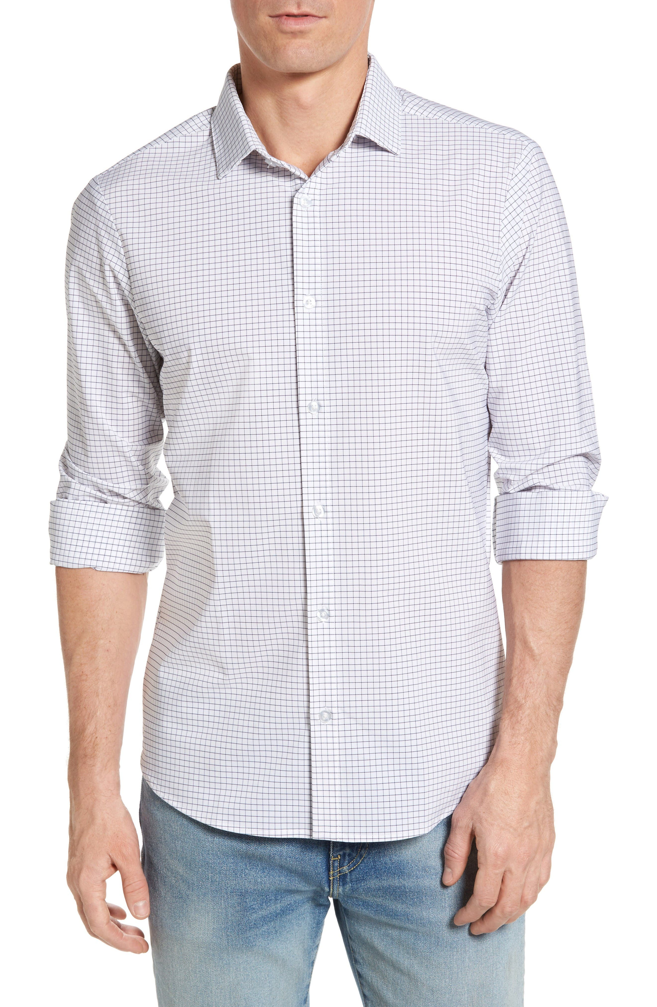 MIZZEN+MAIN Kennedy Performance Sport Shirt