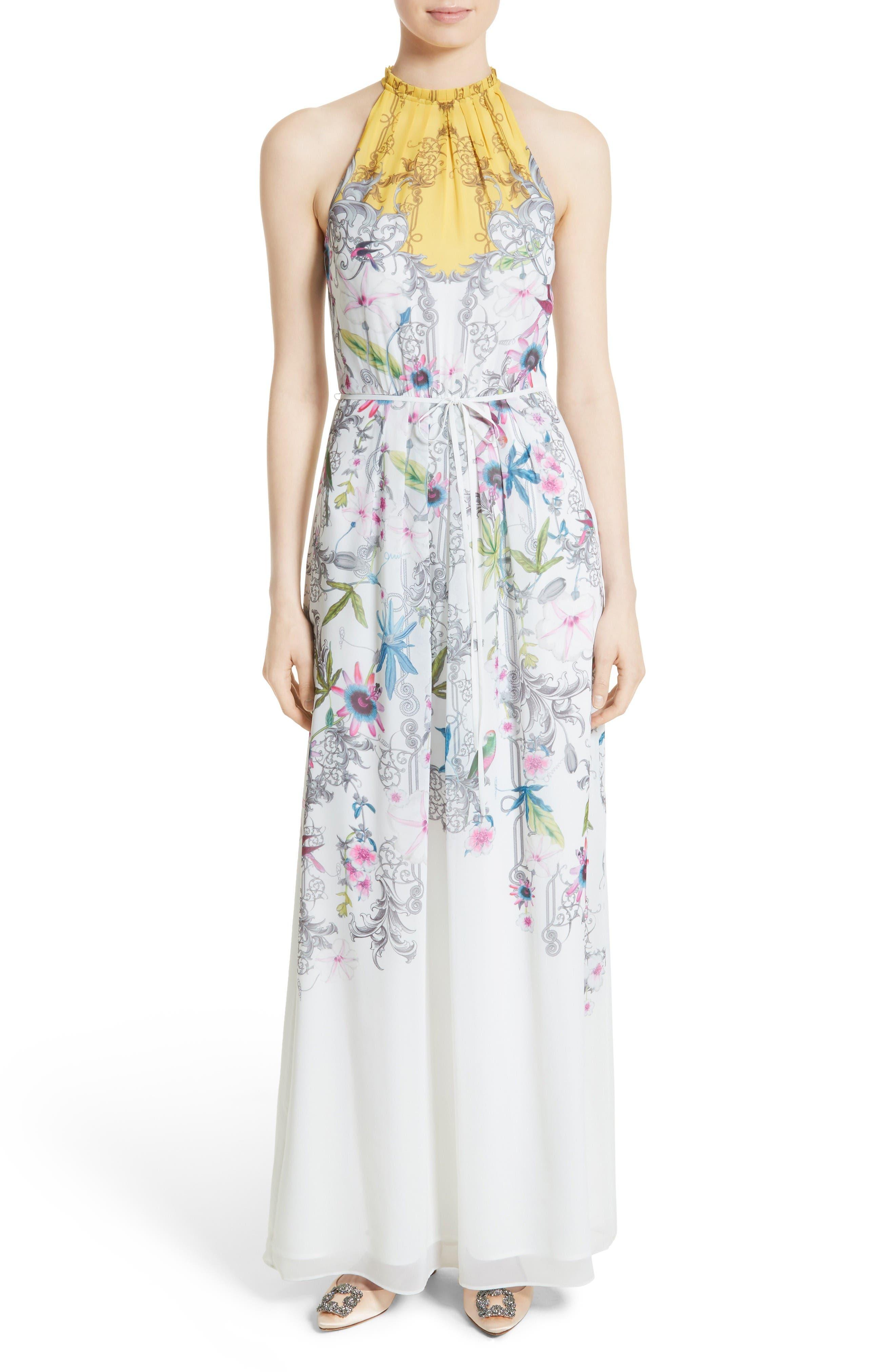 Ted Baker London Ellly Passion Flower Maxi Dress