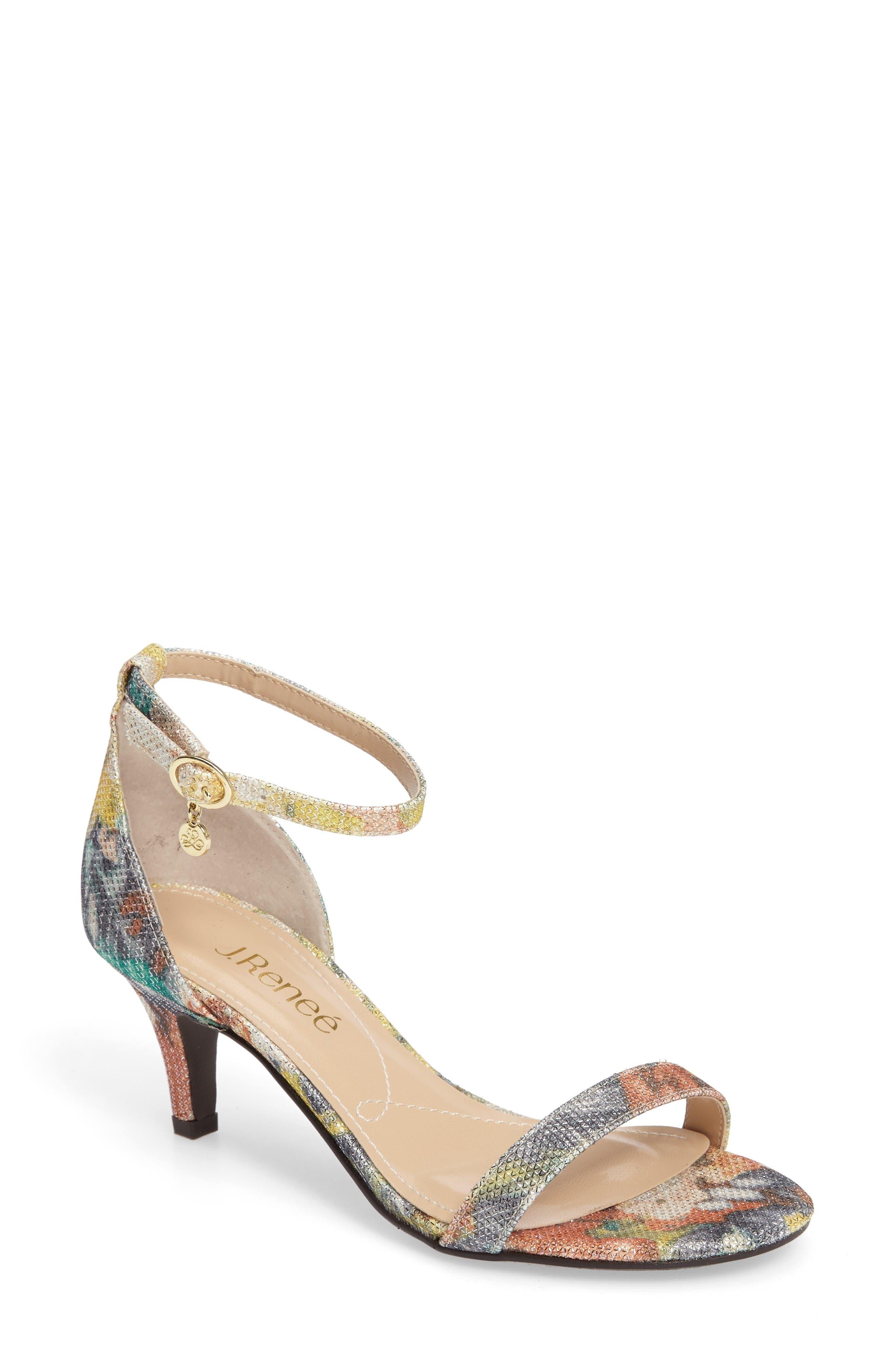 J. Reneé Badalona Kitten Heel Sandal (Women)