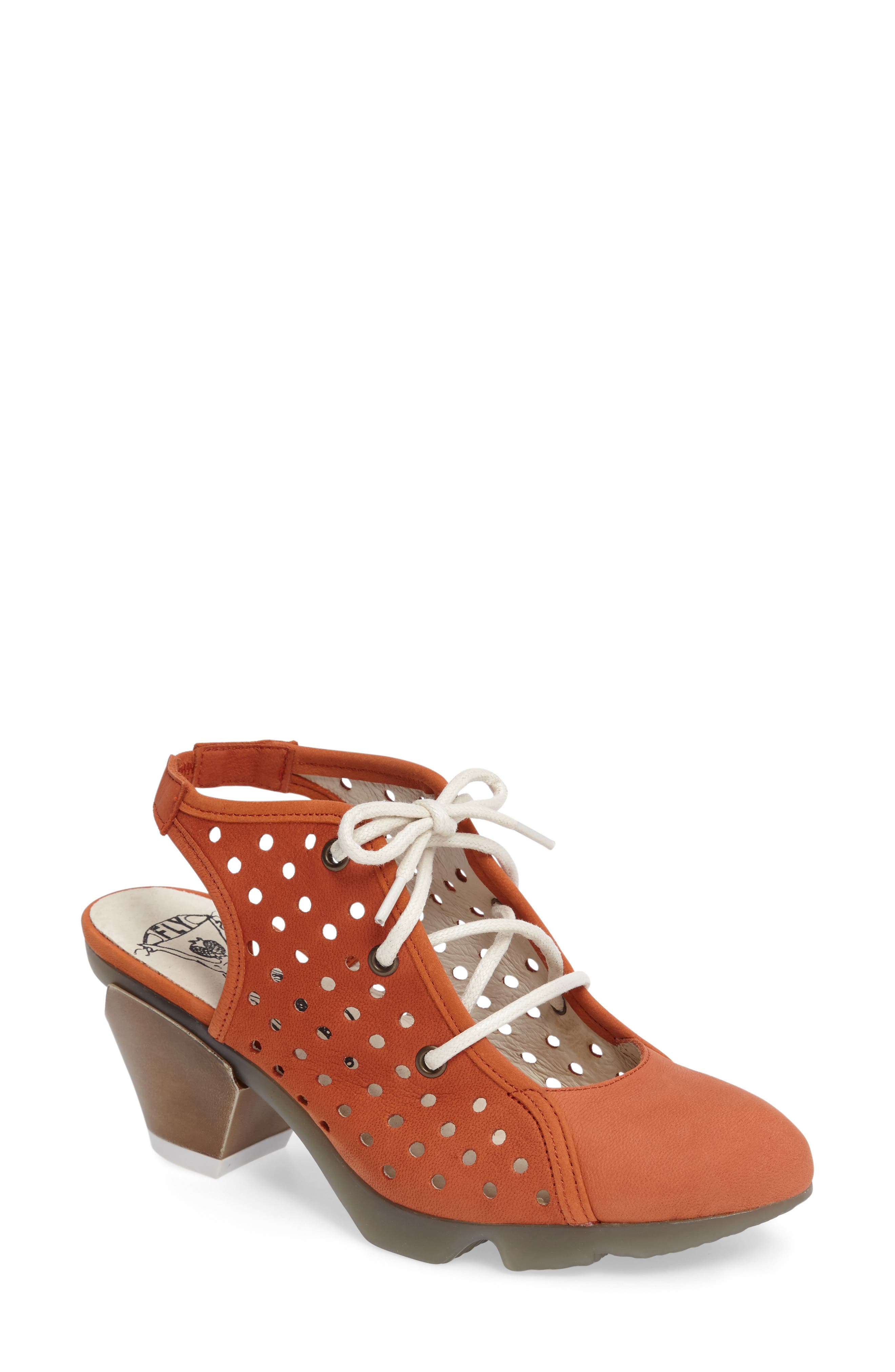 Fly London Ozie Lace-Up Pump (Women)
