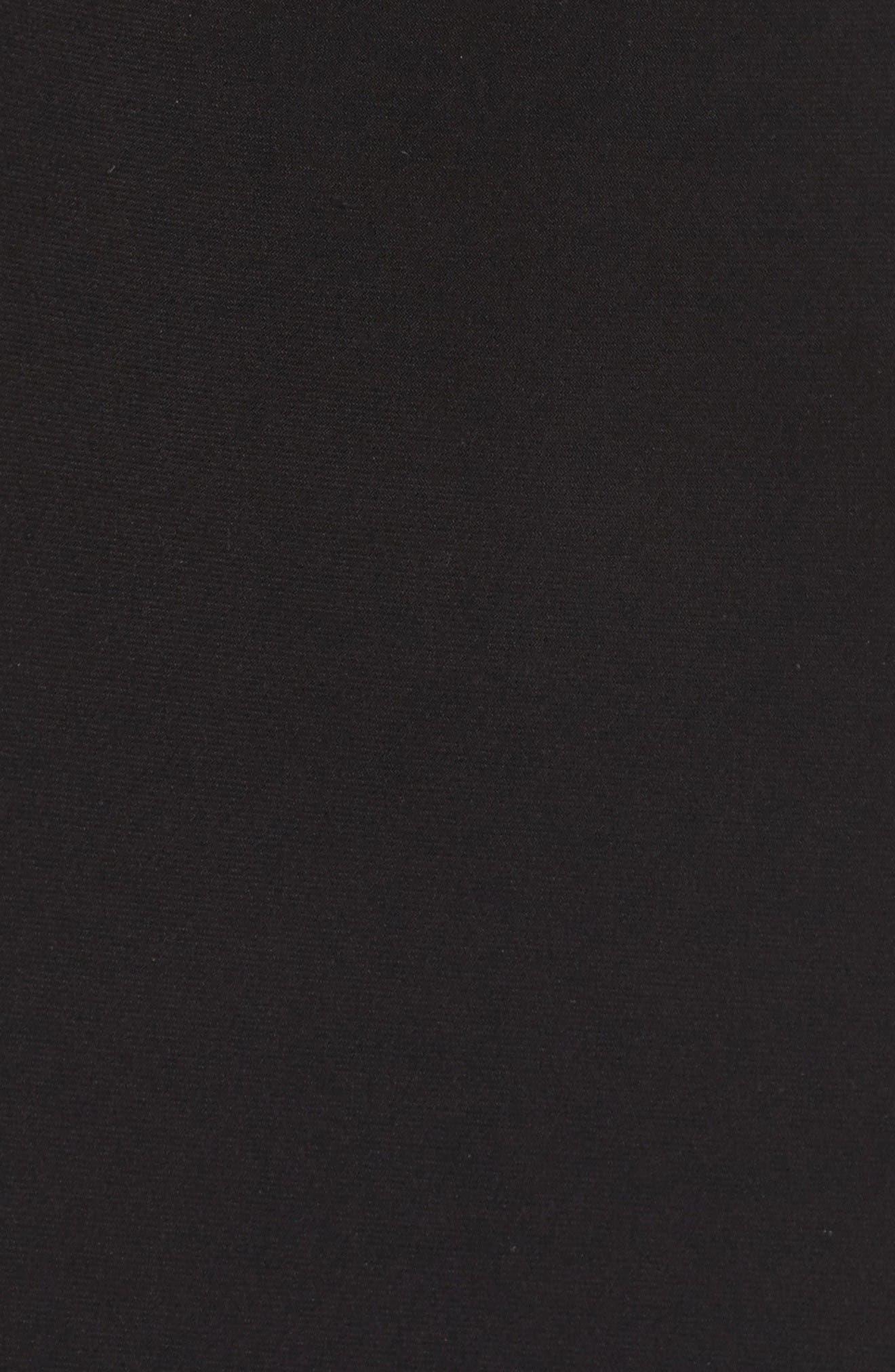 Alternate Image 5  - Xscape Mesh & Jersey Gown (Regular & Petite)