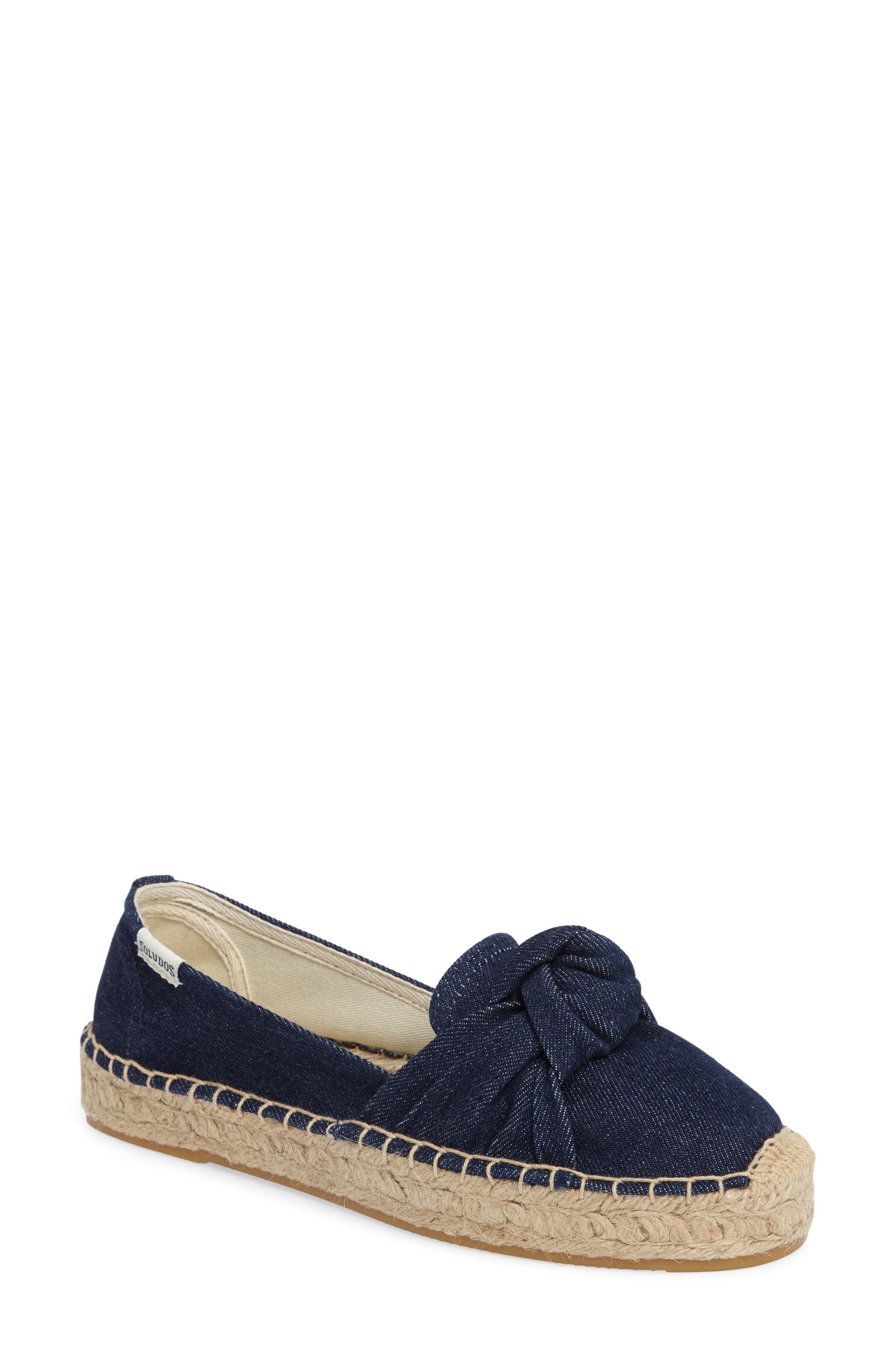 Soludos Knotted Smoking Slipper Flat (Women)