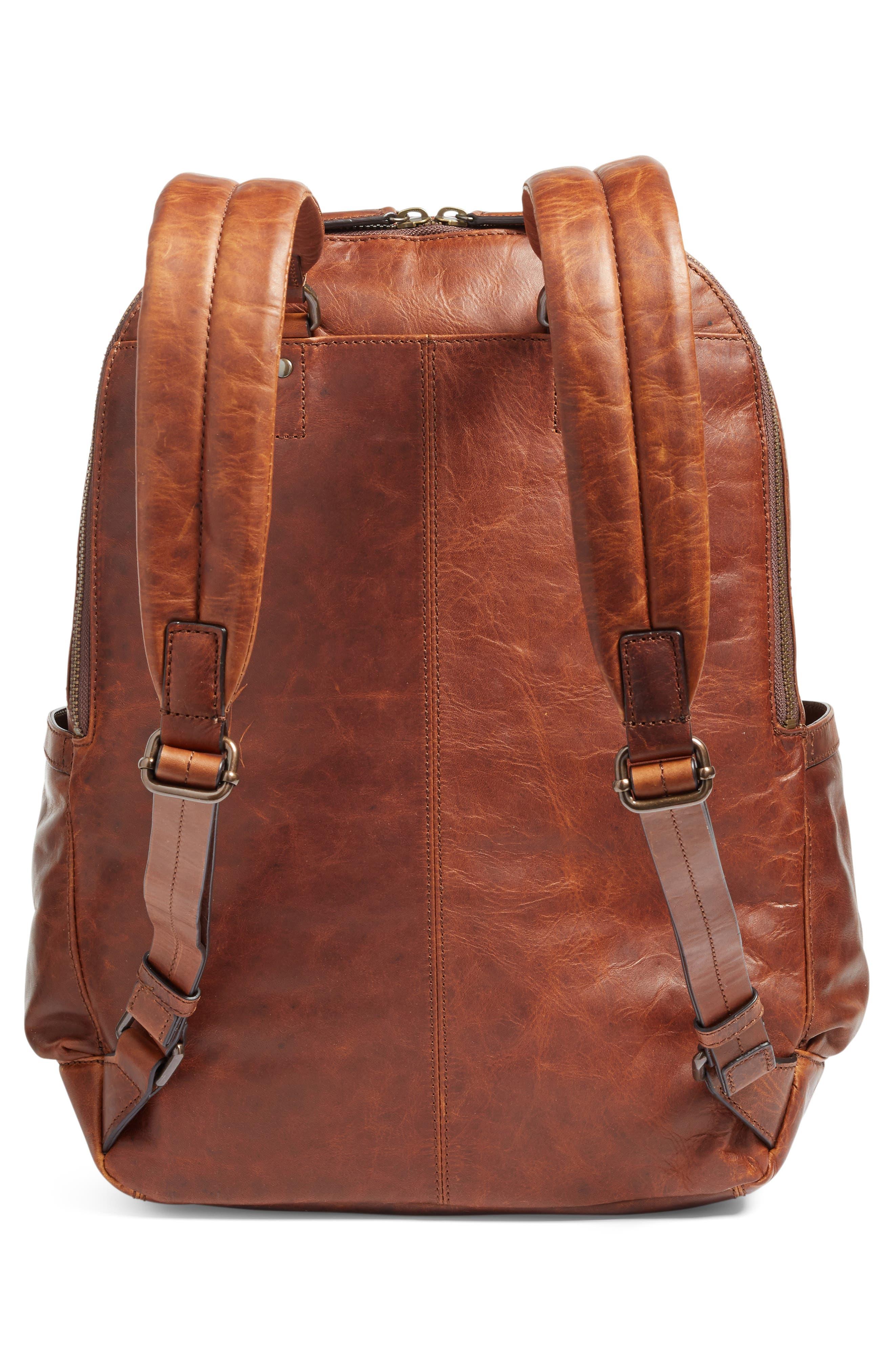 Alternate Image 4  - Frye 'Logan' Leather Backpack