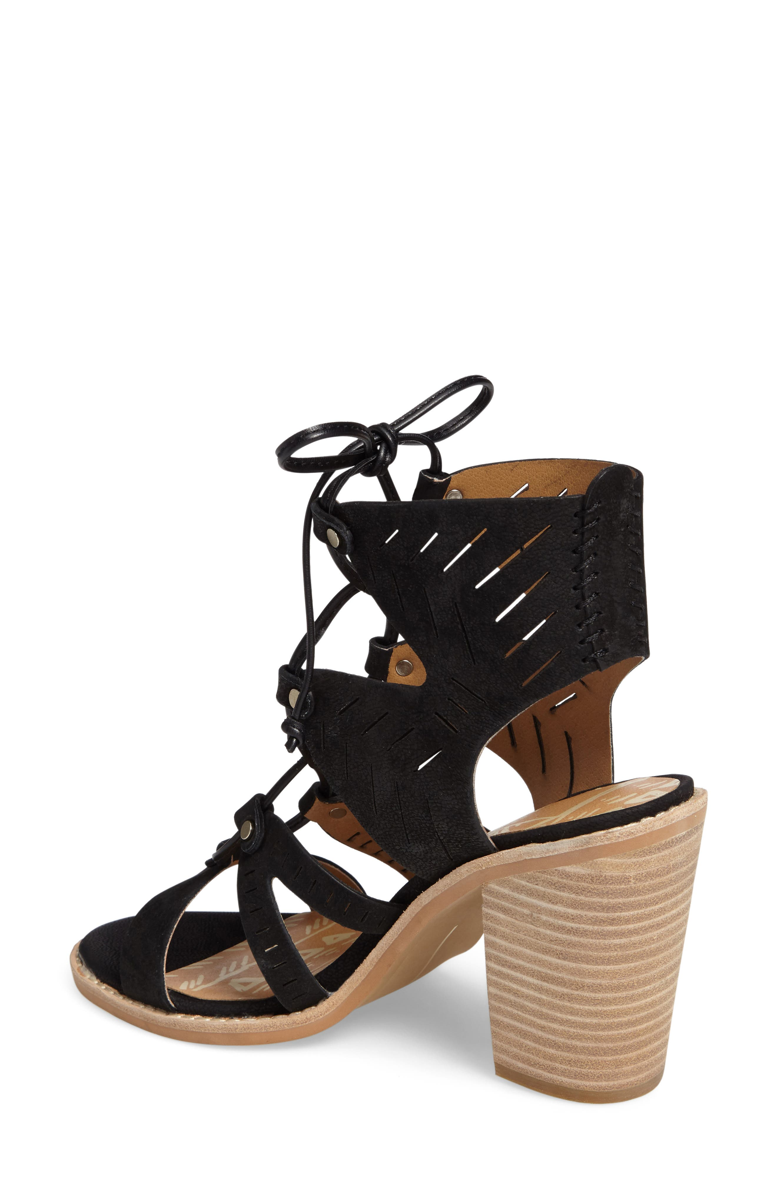 Alternate Image 2  - Dolce Vita Luci Ghillie Lace Sandal (Women)