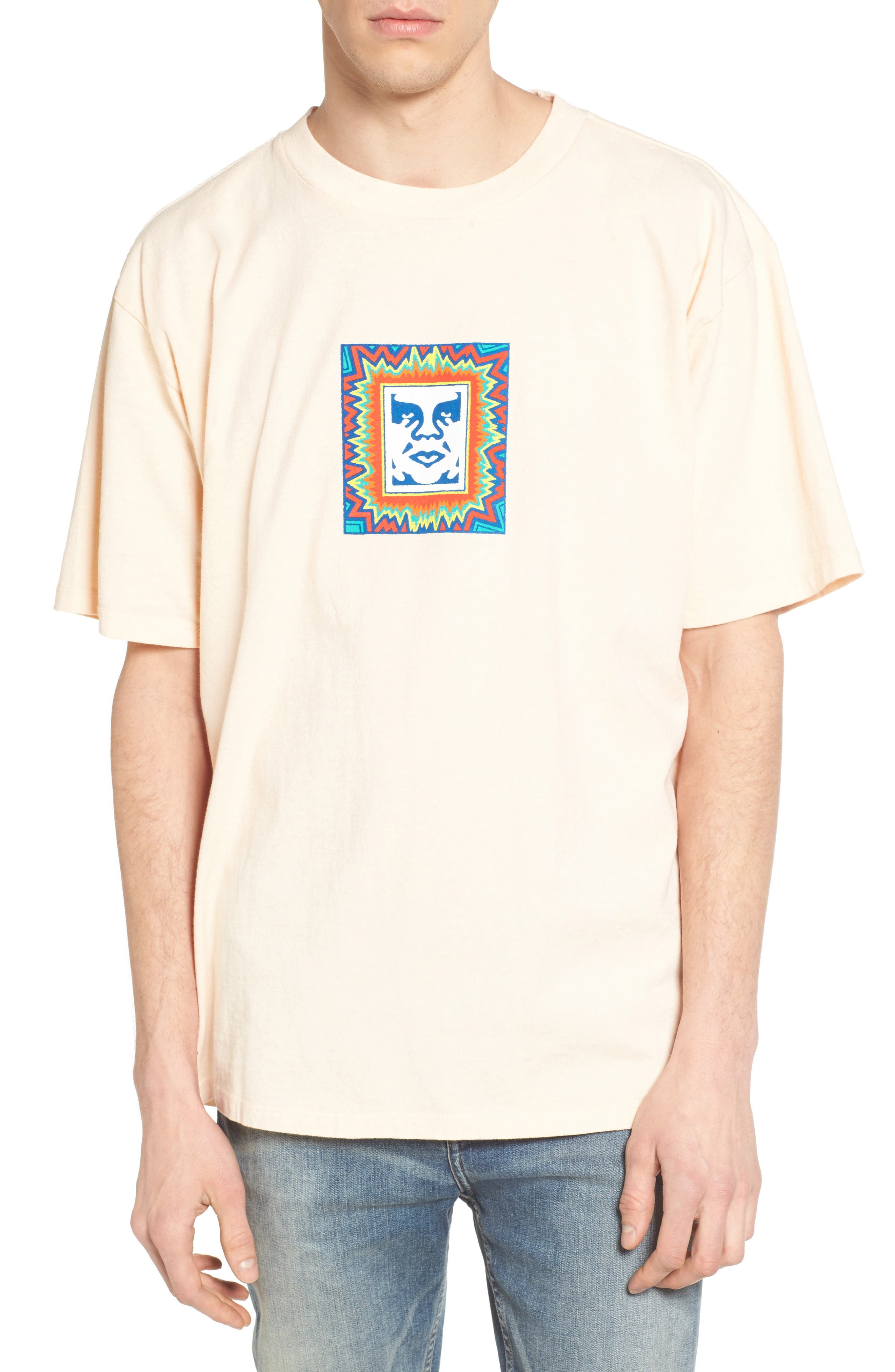 Obey Tripped Box Graphic T-Shirt