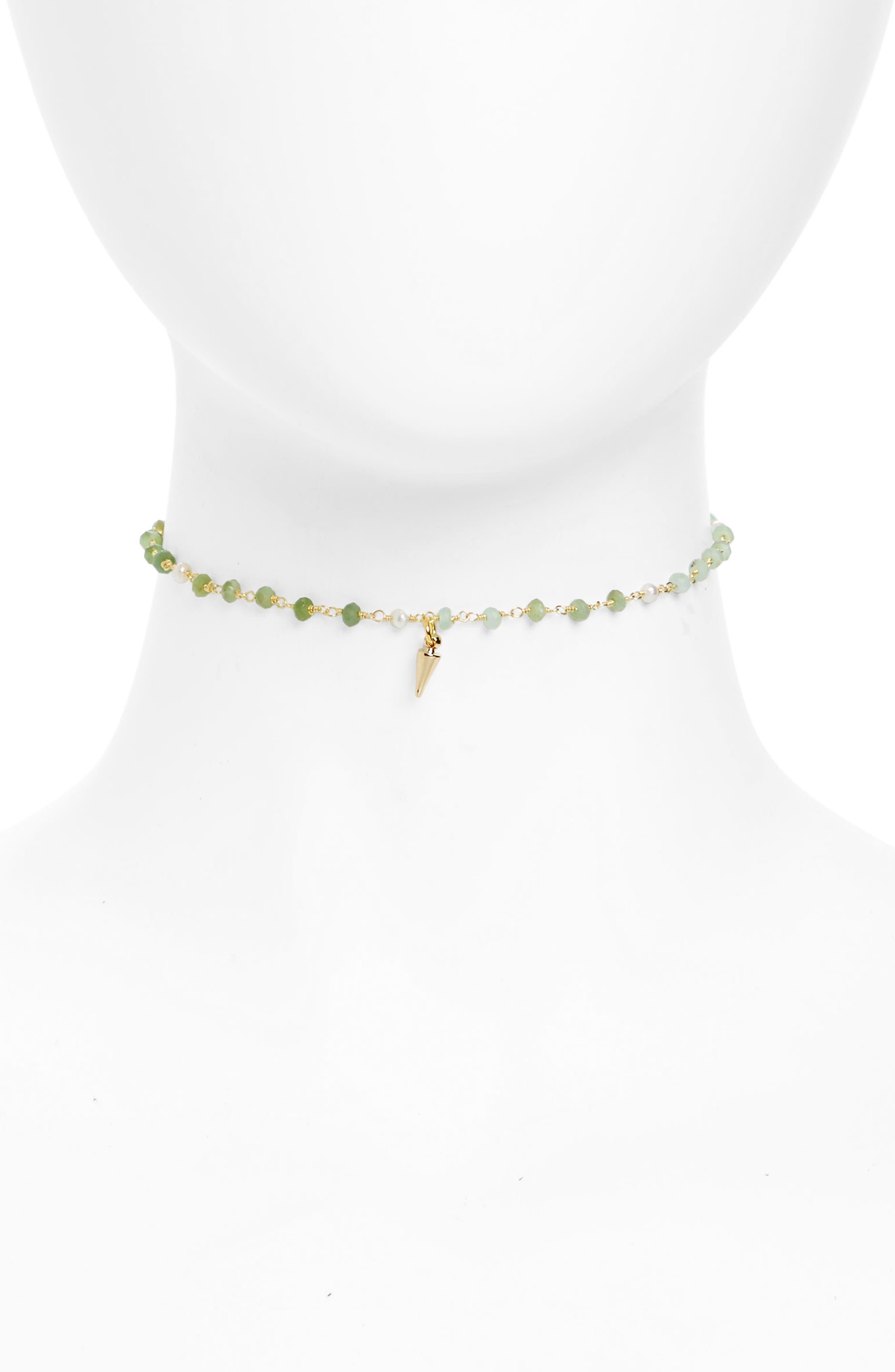 Karen London Lovers Dagger Choker Necklace