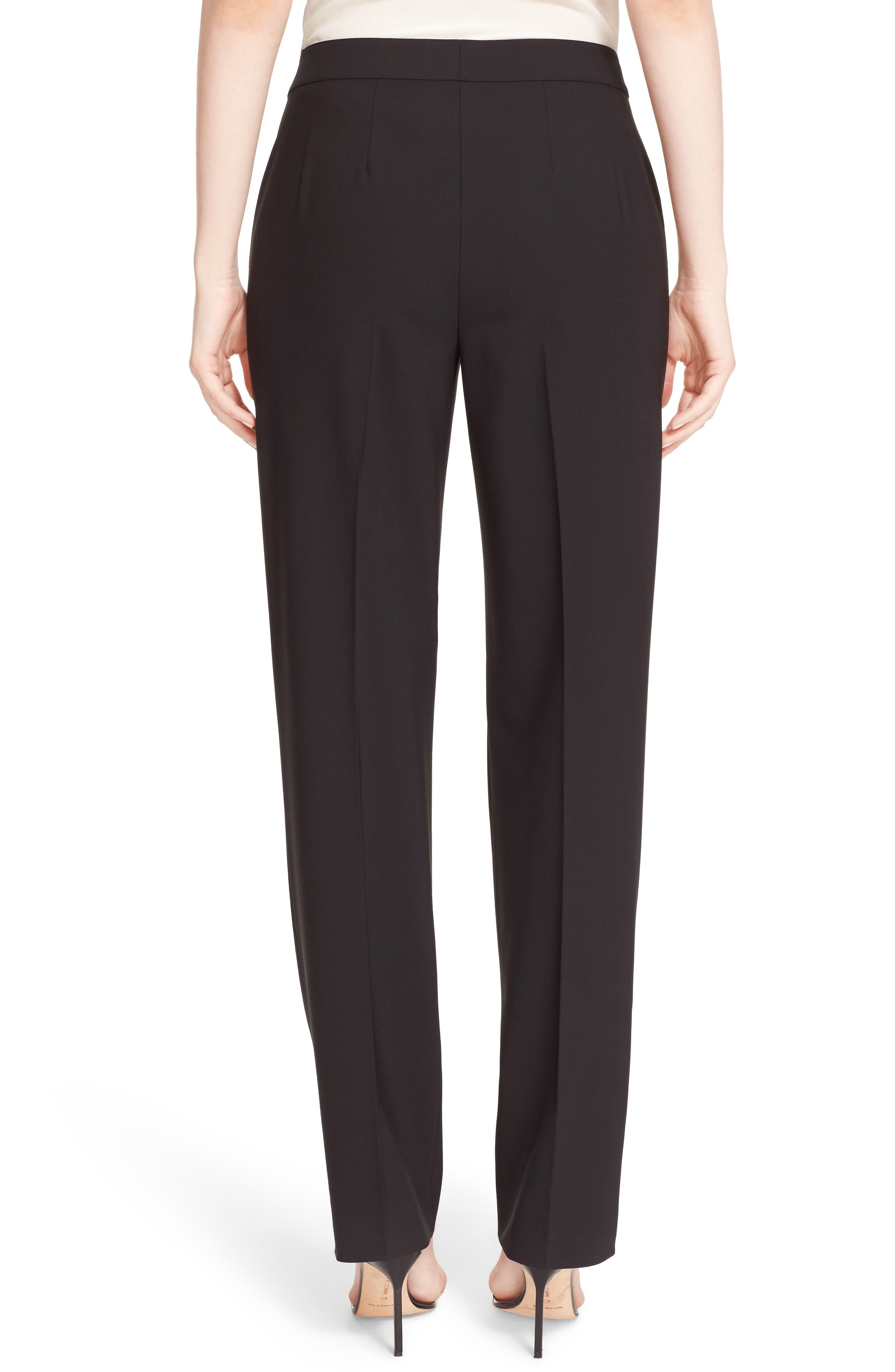 Alternate Image 2  - St. John Collection 'Diana' Tropical Wool Pants