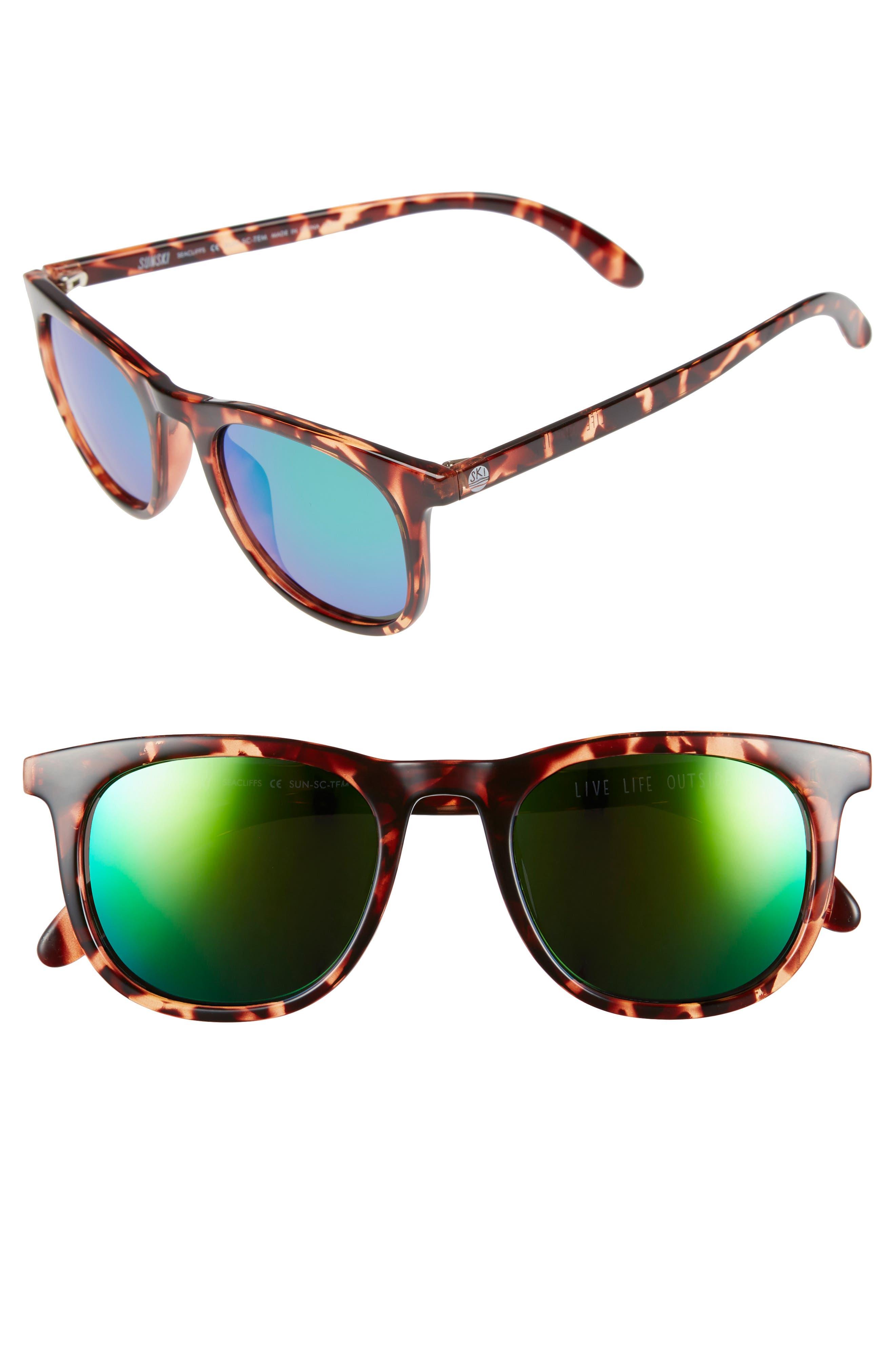 Sunski Seacliff 48mm Polarized Sunglasses