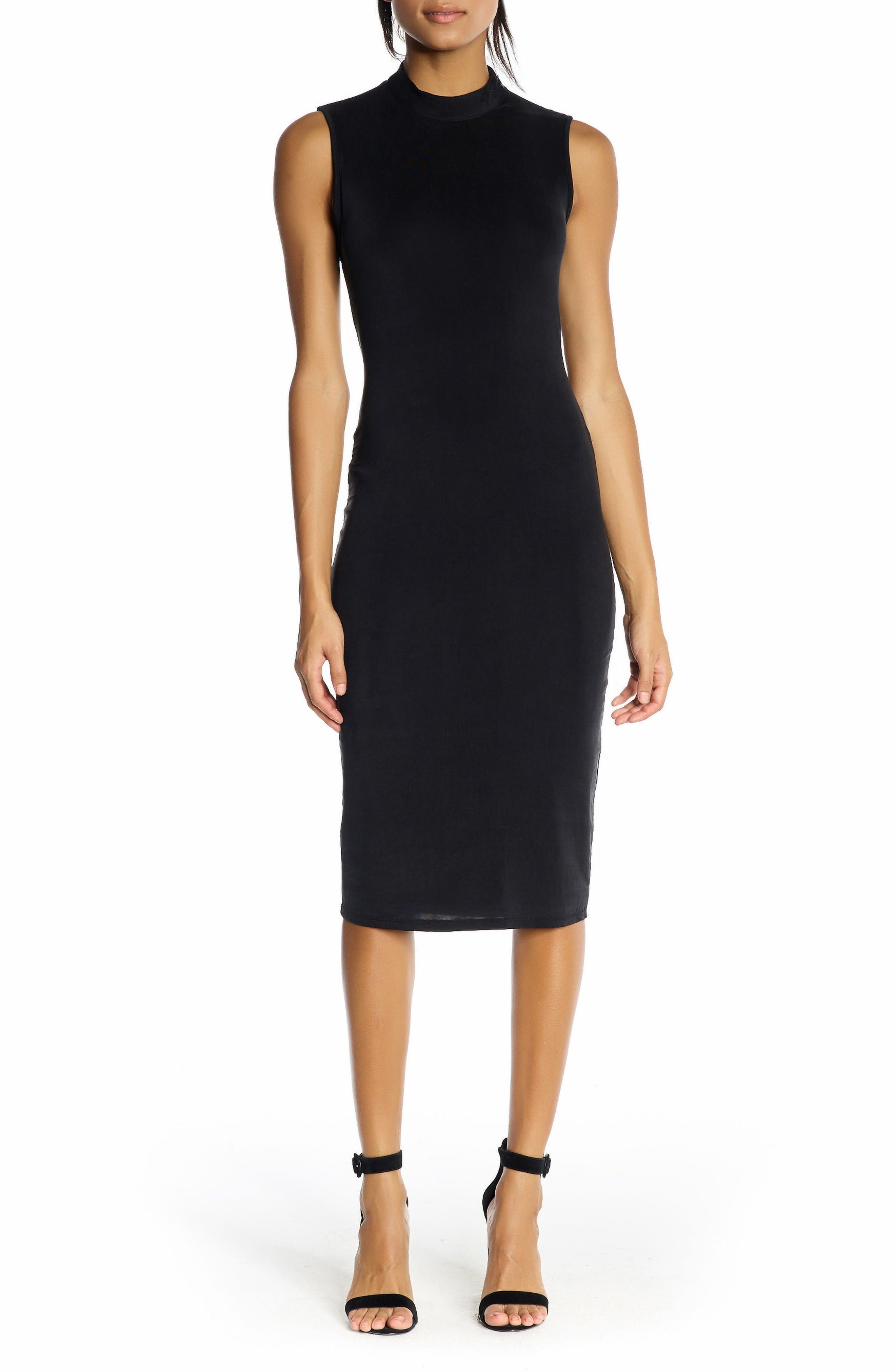 KENDALL + KYLIE Twist Back Body-Con Dress