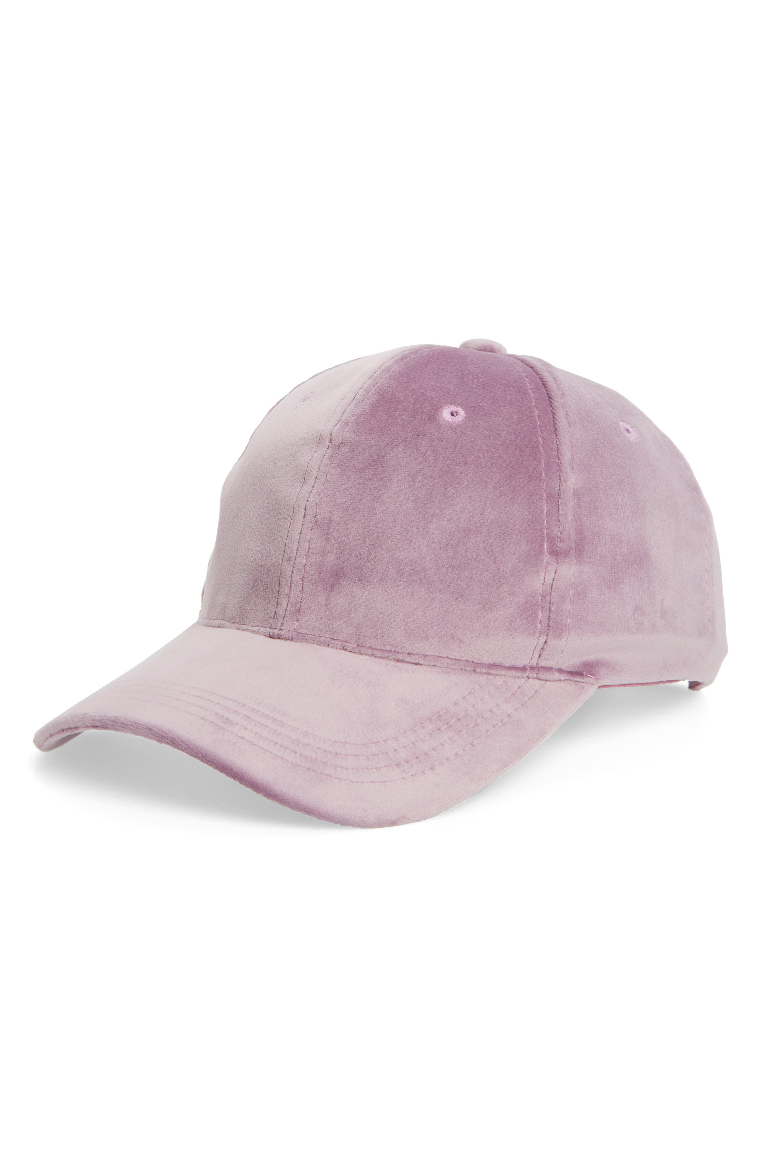 Main Image - Fantasia Velvet Ball Cap