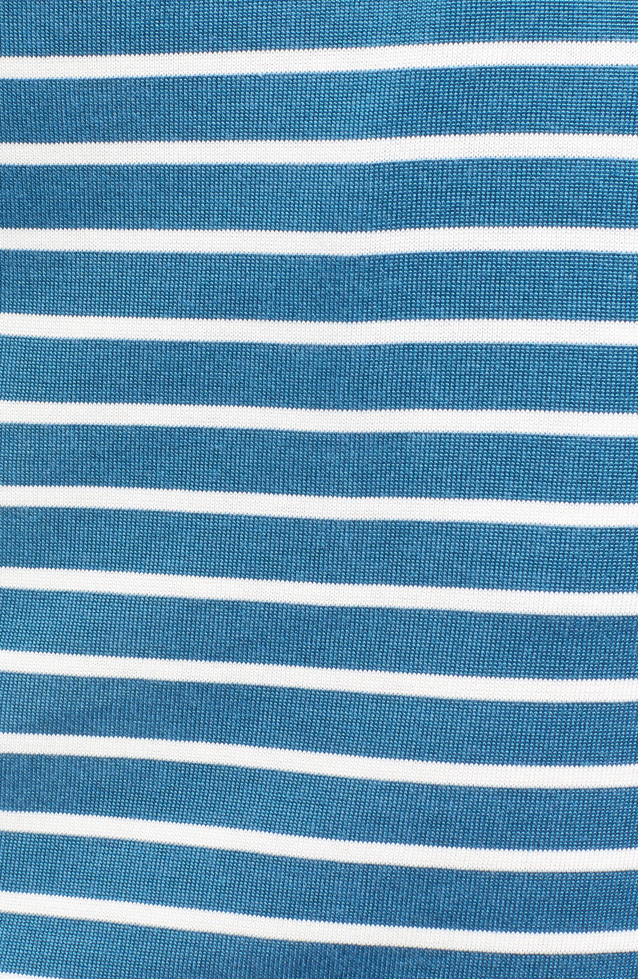 Alternate Image 5  - Barbour Wharf Stripe Jersey Dress
